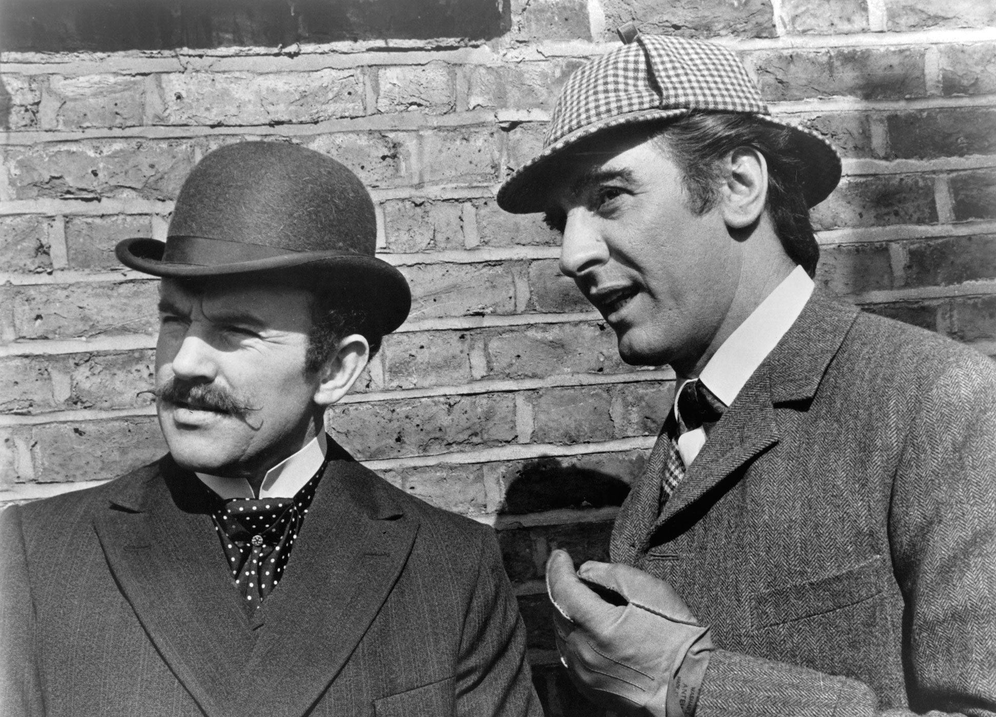The Private Life of Sherlock Holmes, 1970. In Billy Wilder's melancholy comedy, Holmes (Robert Stevens) and Dr. Watson (Colin Blakely) travel to Scotland for a glimpse of the Loch Ness Monster. Spoiler Alert: Nessie is really a small prototype submarine, devised by Sherlock's brother Mycroft (Christopher Lee) and carrying an all-midget crew.
