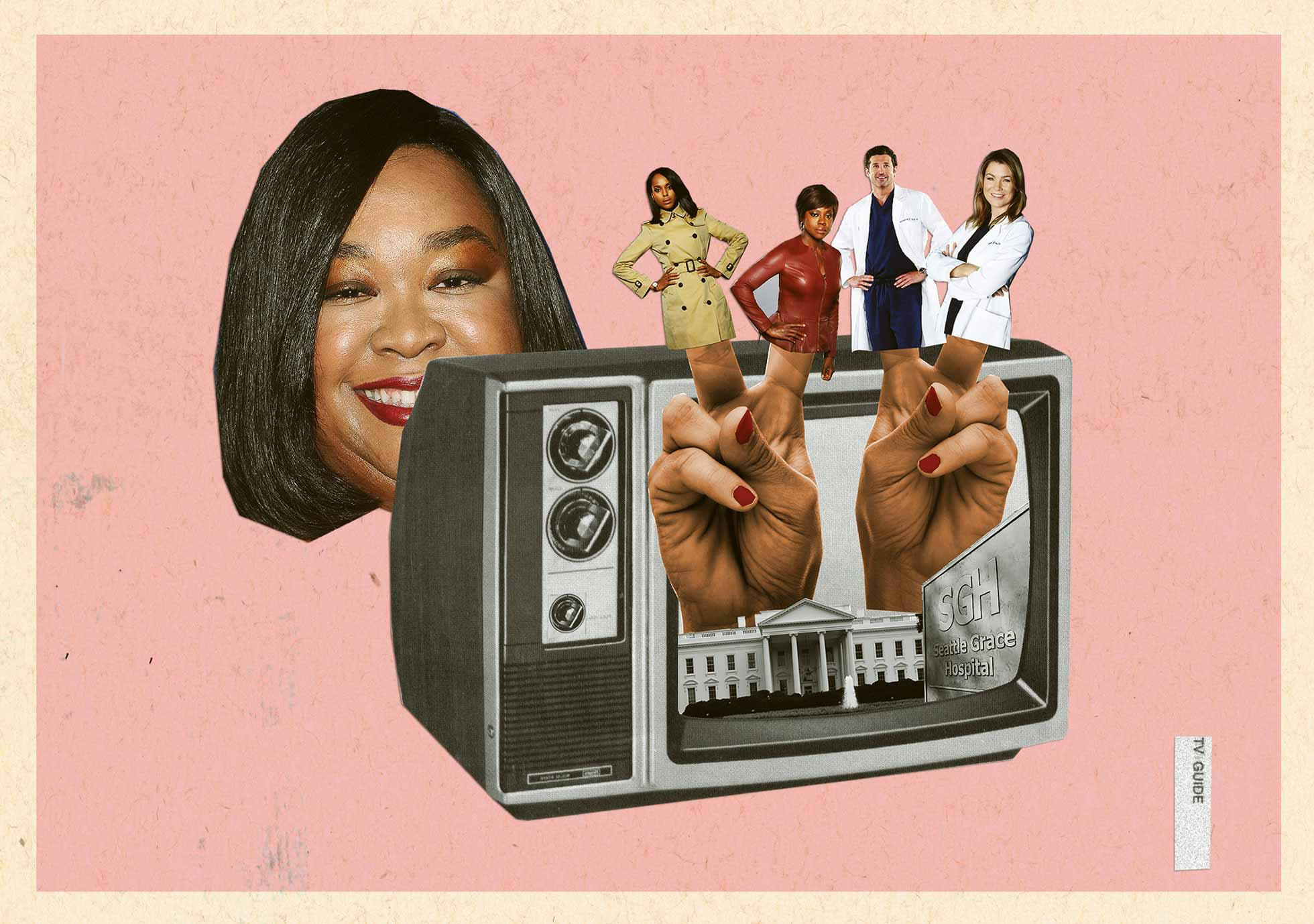 Rhimes controls ABC's Thursday-night lineup with three consecutive shows
