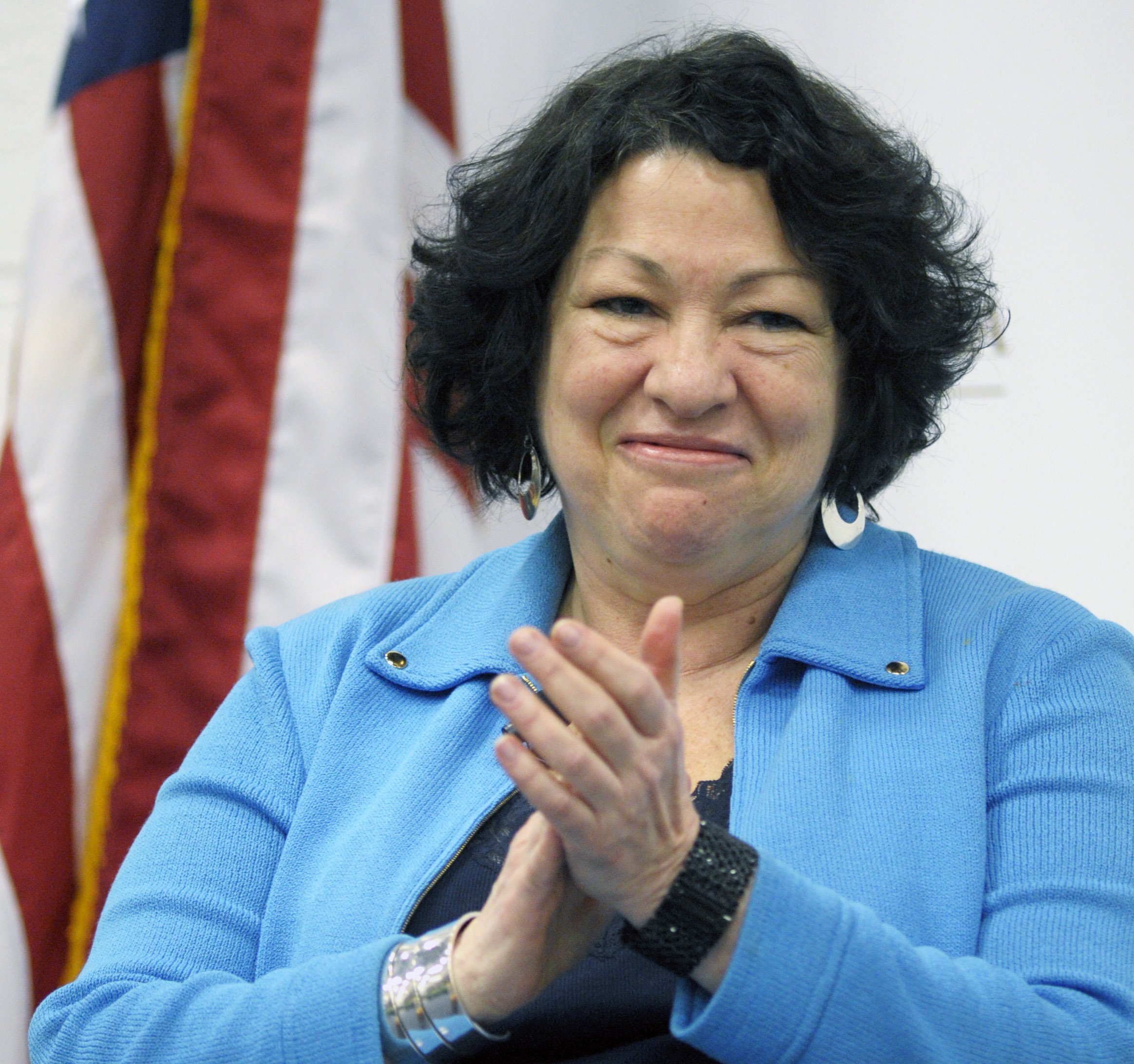 Supreme Court Associate Justice Sonia Sotomayor in Washington on April 2, 2012.