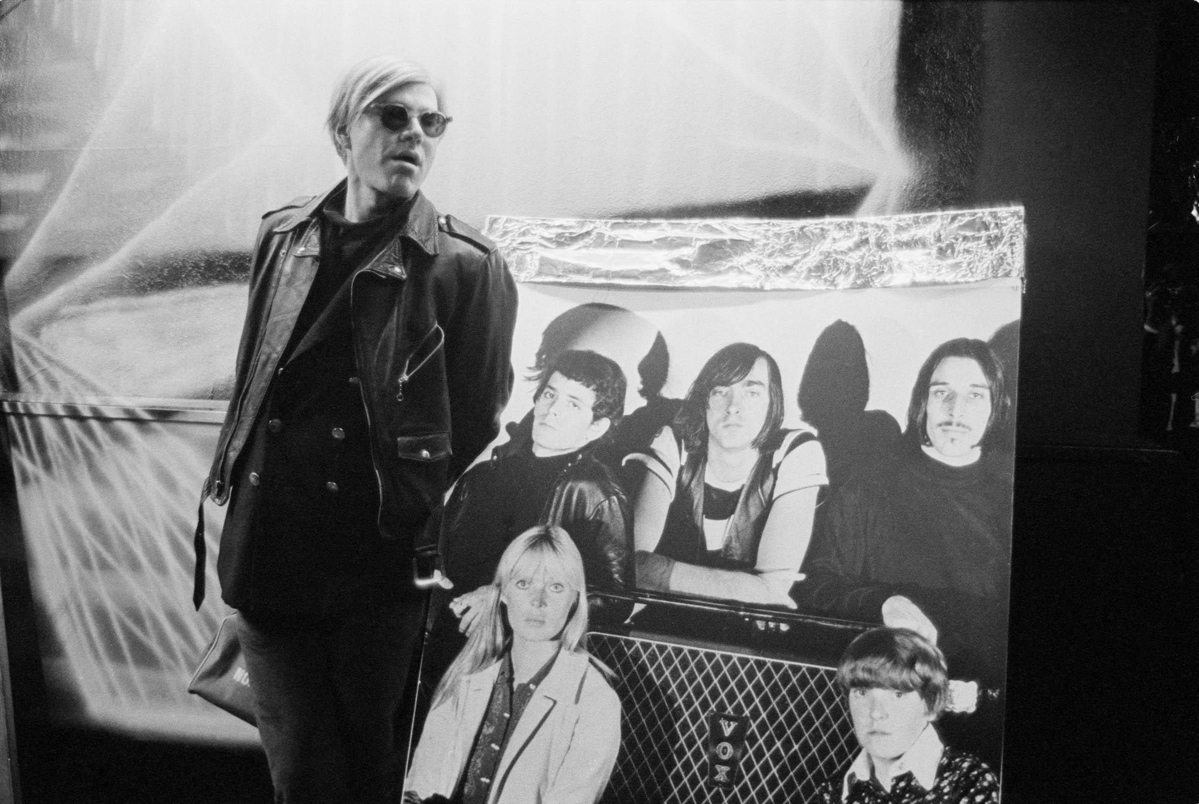 Andy Warhol at the Factory, NYC