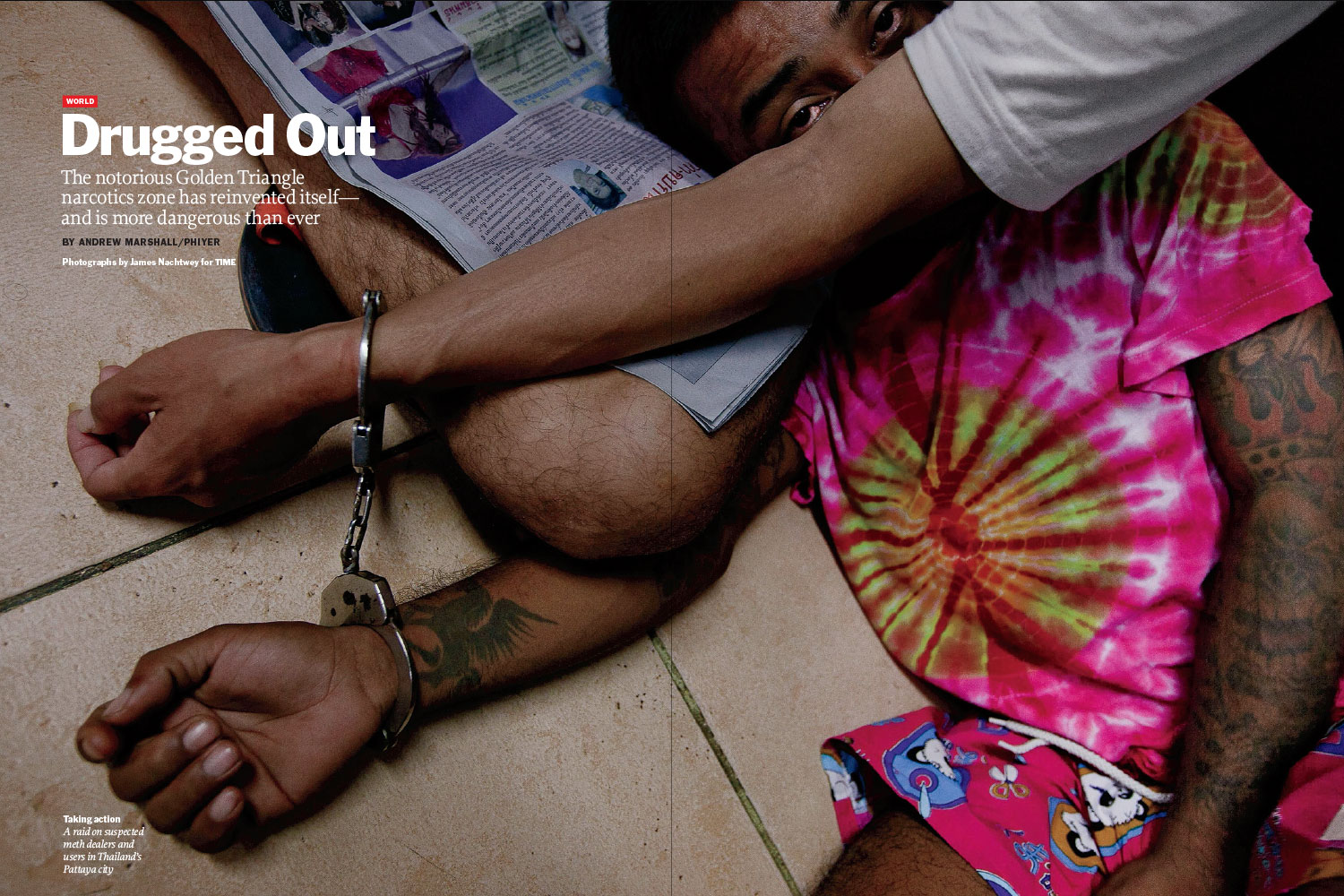 From  Drugged Out.  May 30, 2011 International issue.