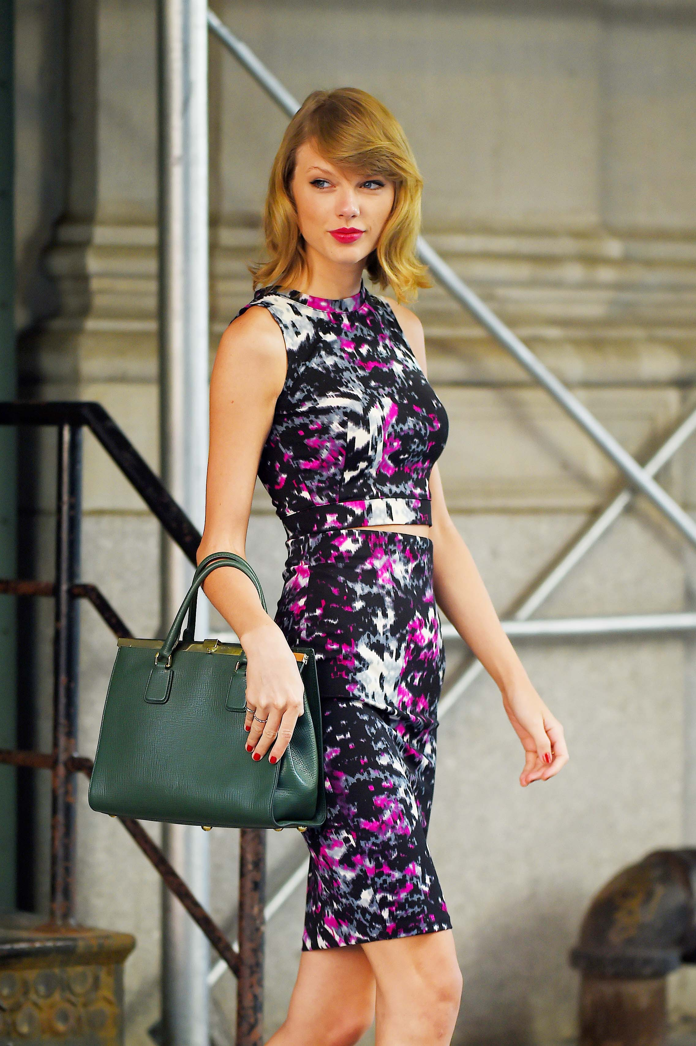 Taylor Swift on Sept. 15, 2014 in New York City