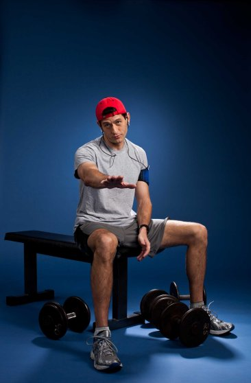 According to Tony Horton, you don't need a lot of equipment to get fit. Paul Ryan likes to use weights, but they aren't a necessity