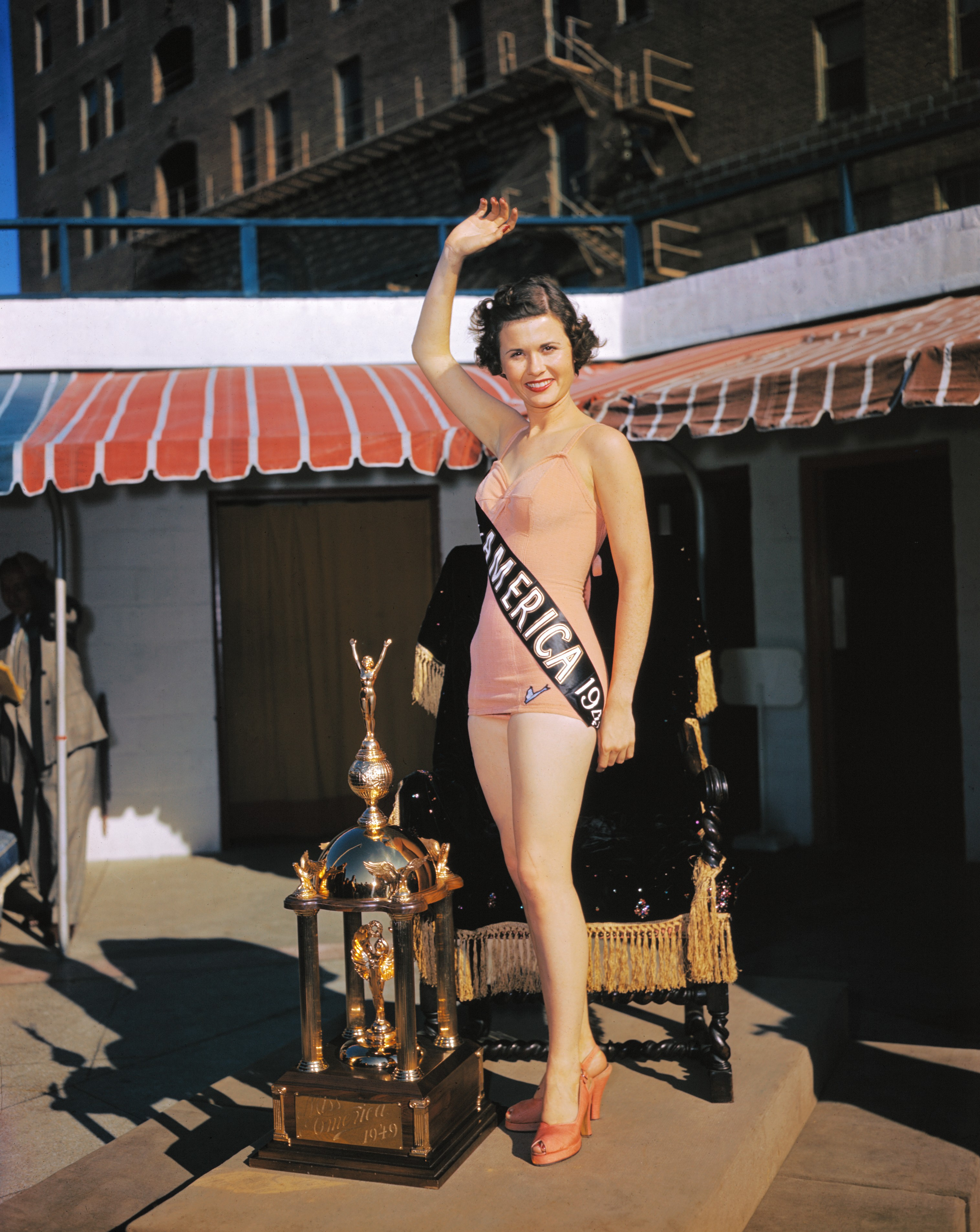 1949: Jacque Mercer from Litchfield, Ariz.