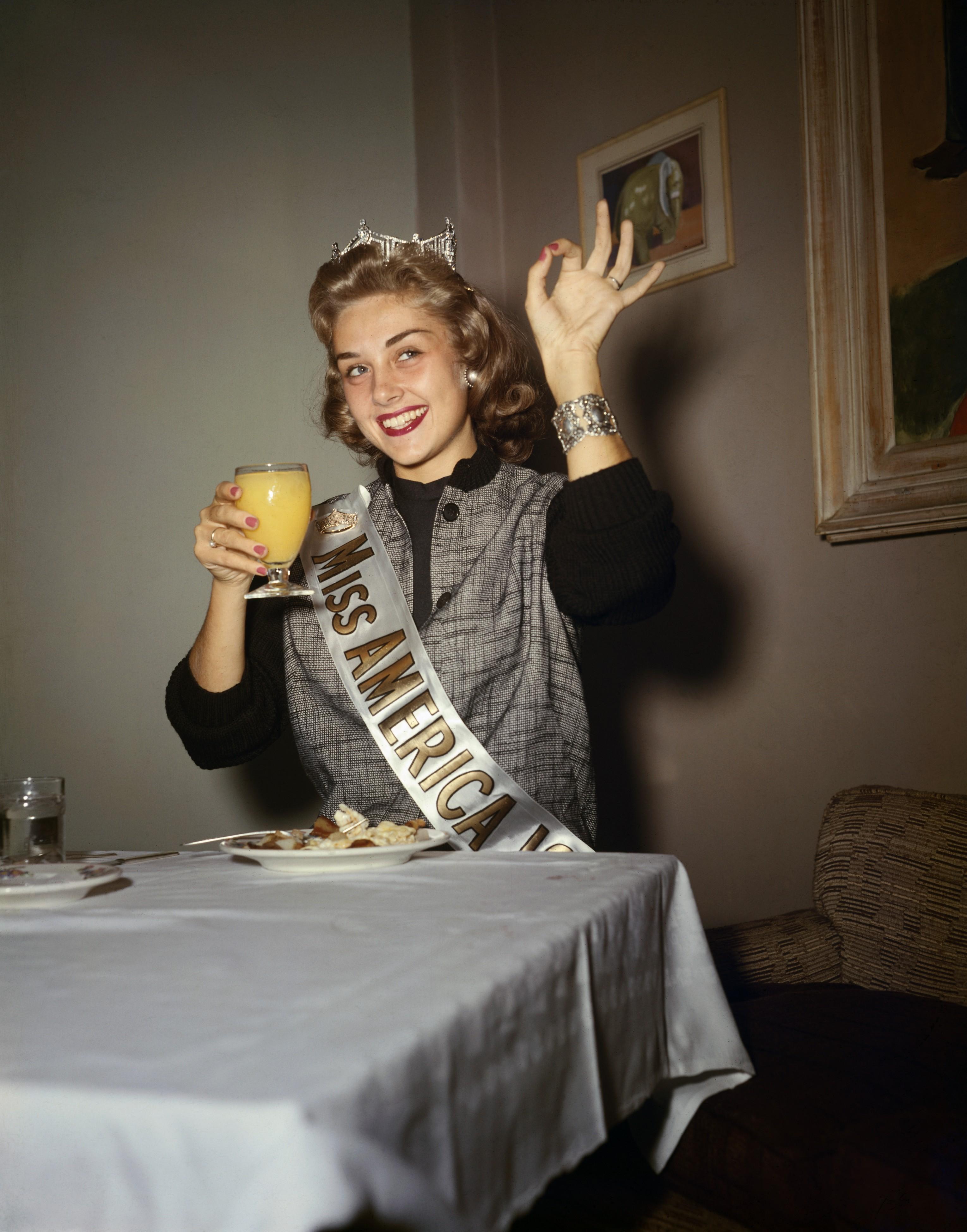 1957: Marian Ann McKnight from Manning, S.C.