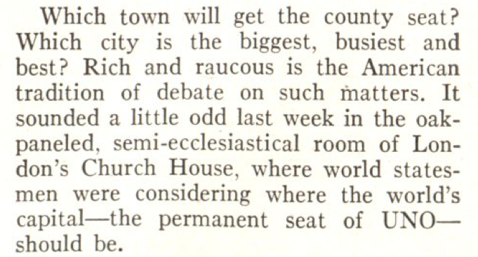 From the Dec. 10, 1945, issue of TIME