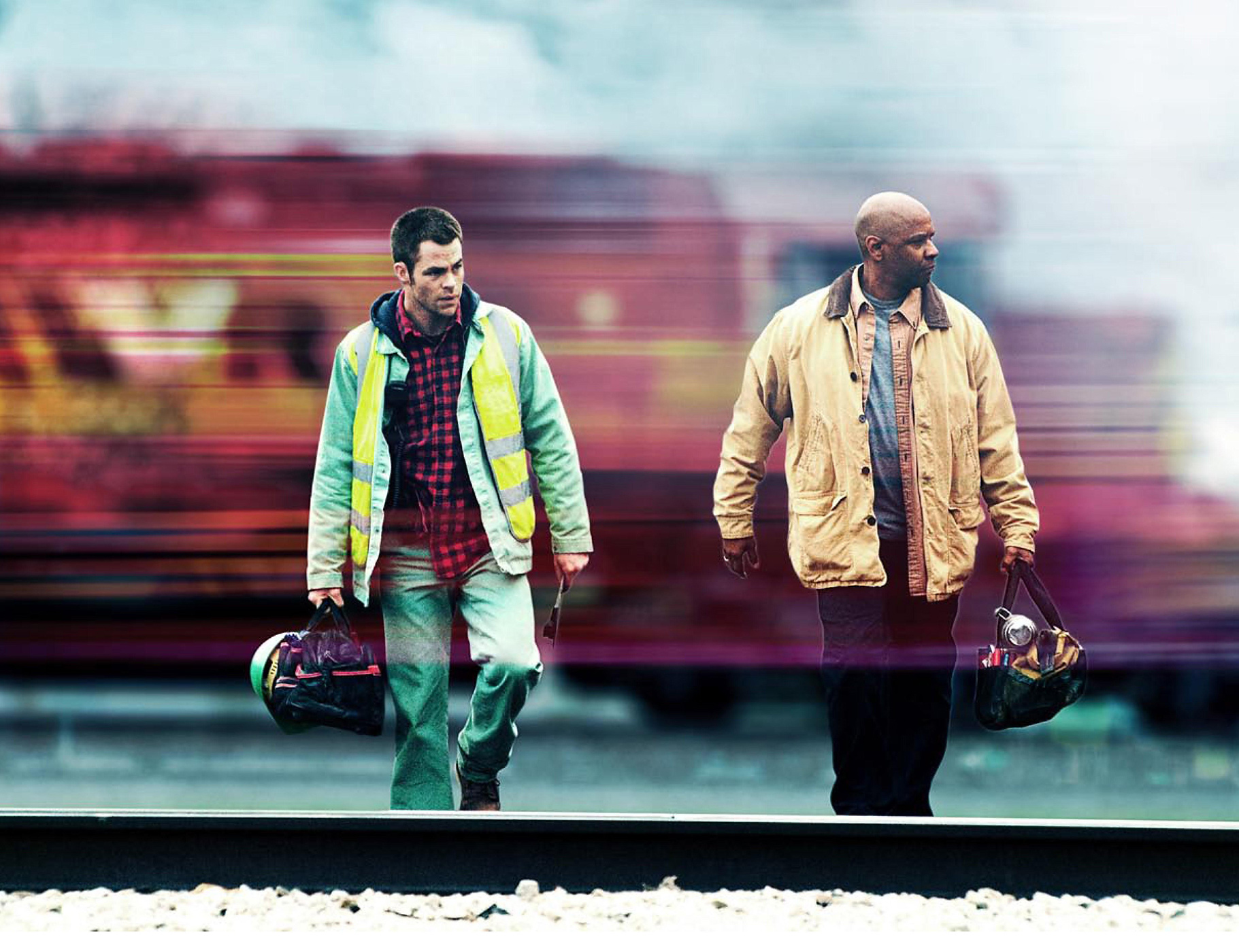 Unstoppable (2010) was Washington's second train movie in as many years, but also provided us with a wonderful SNL parody starring Jay Pharoah and Taran Killam.