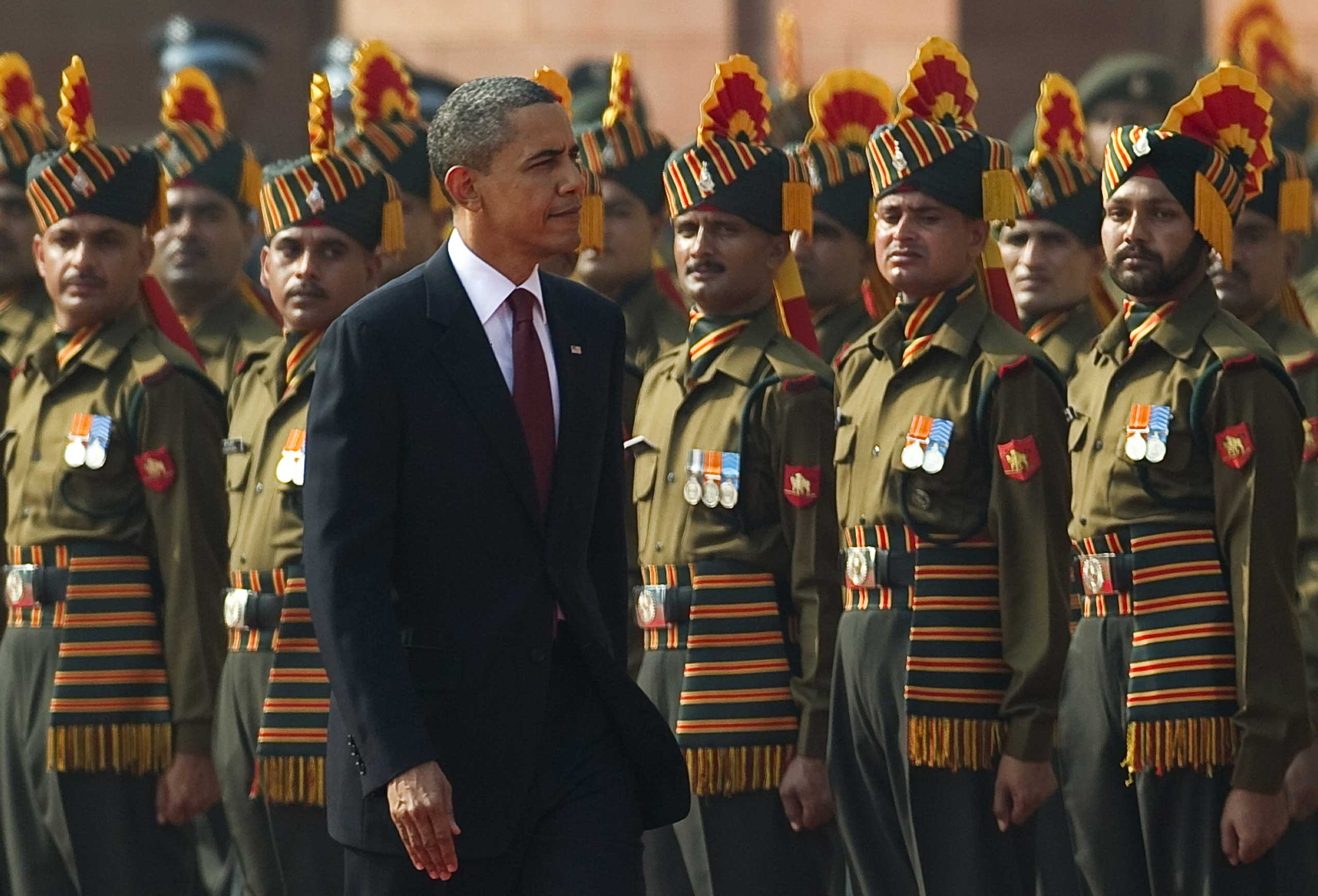 <b>2010:</b> India-US relations became strained during the Obama Administration due to its policies on insurgents in Pakistan and Afghanistan.