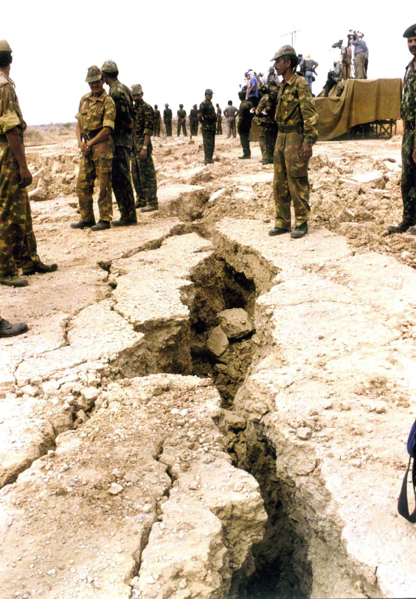 <b>1998:</b> India began nuclear testing in Pokhran in 1998, despite strong condemnation from the US. President Bill Clinton imposed economic sanctions against India.