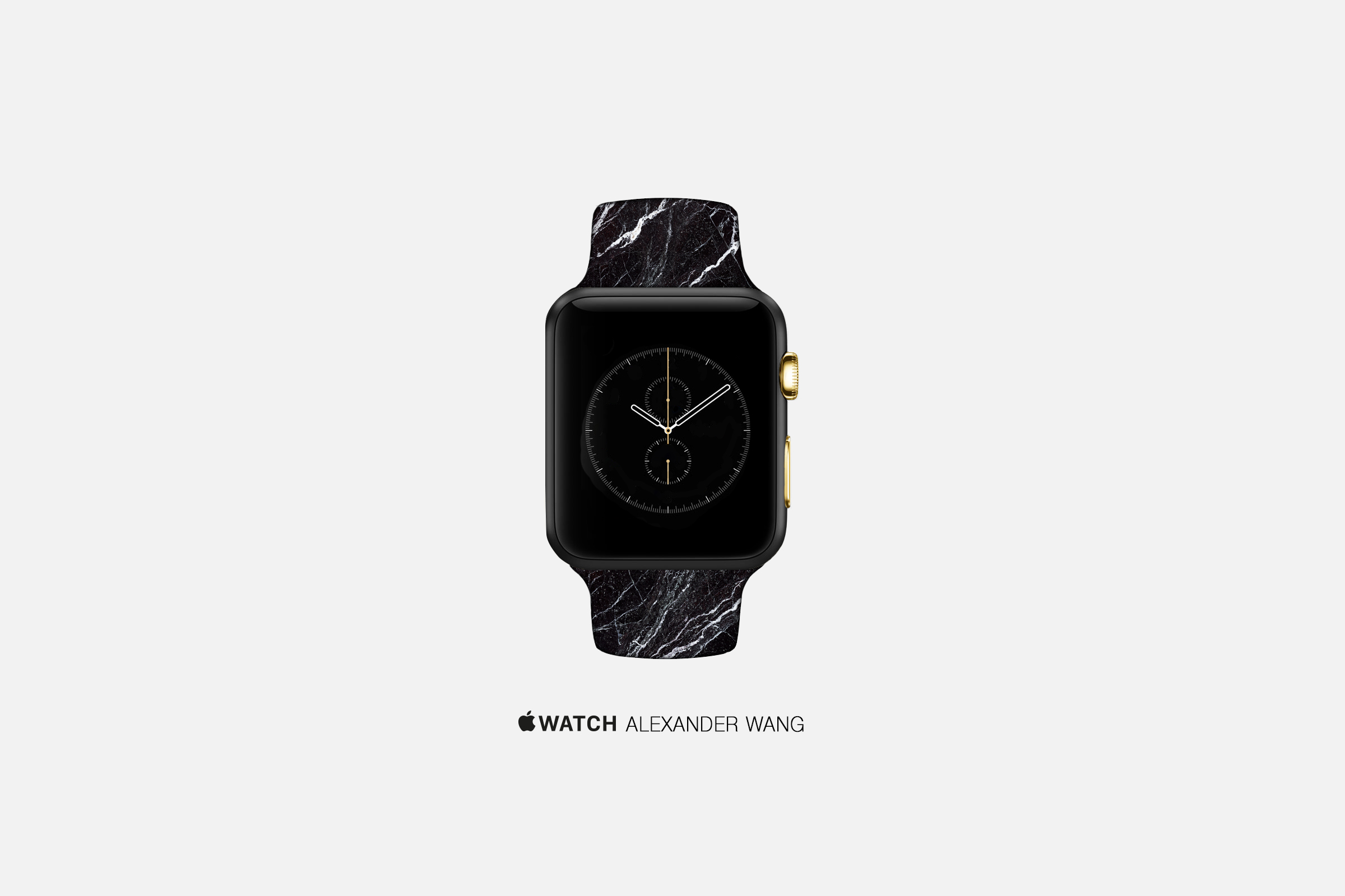 An artist's concept of an Apple Watch by Alexander Wang.