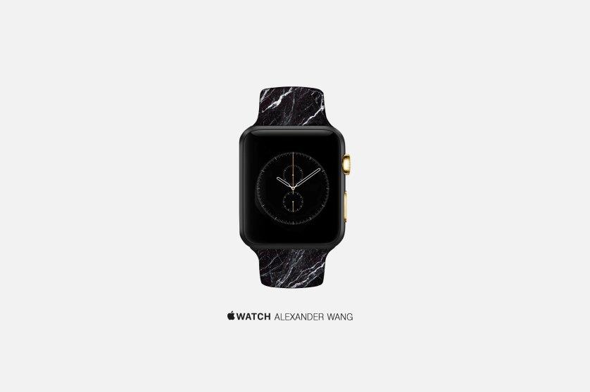 An artist's concept of an Apple Watch by Alexander Wang.