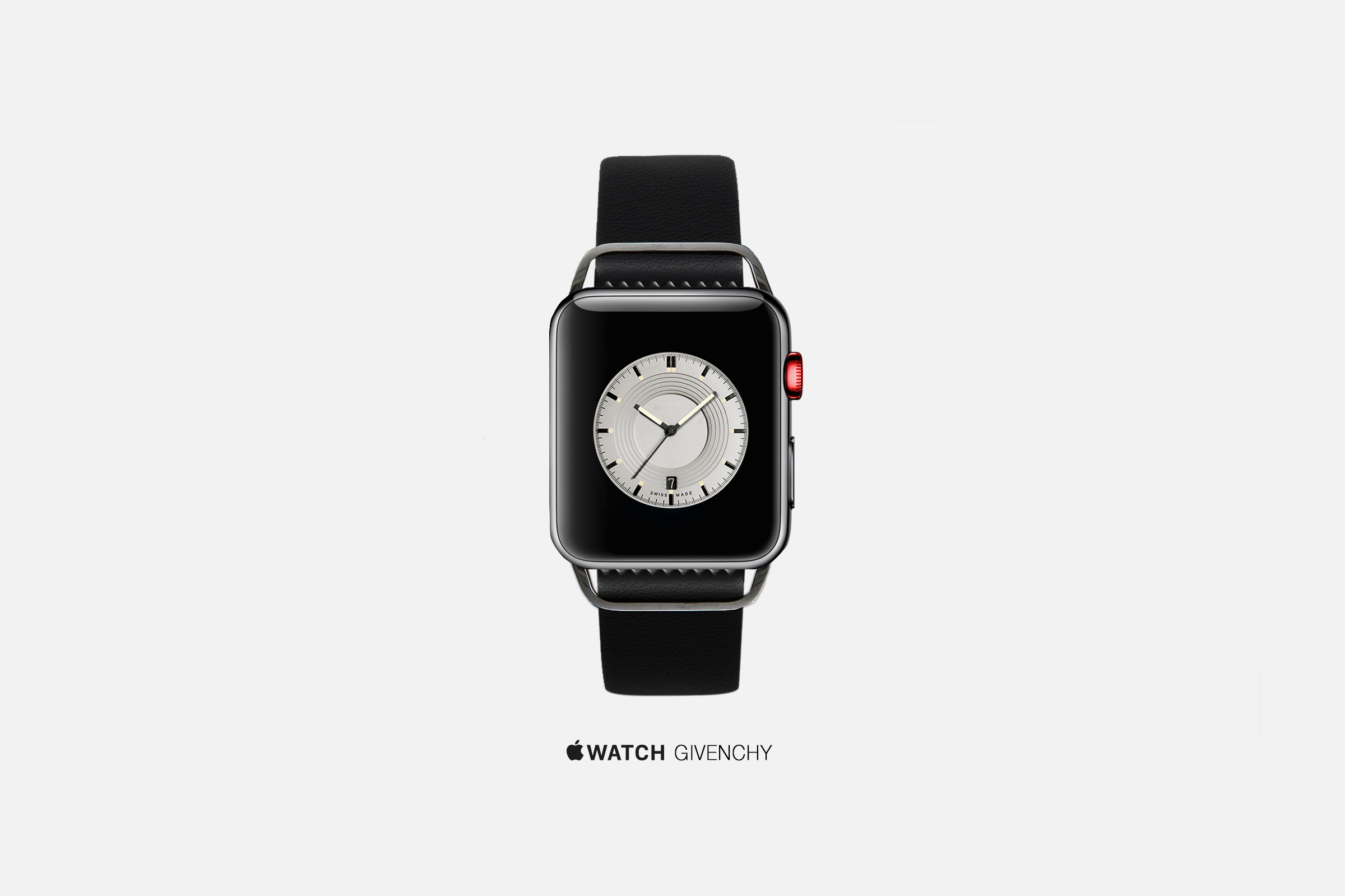 An artist's concept of an Apple Watch by Givenchy.