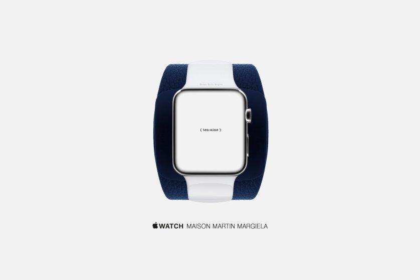 An artist's concept of an Apple Watch by Maison Martin Margiela.