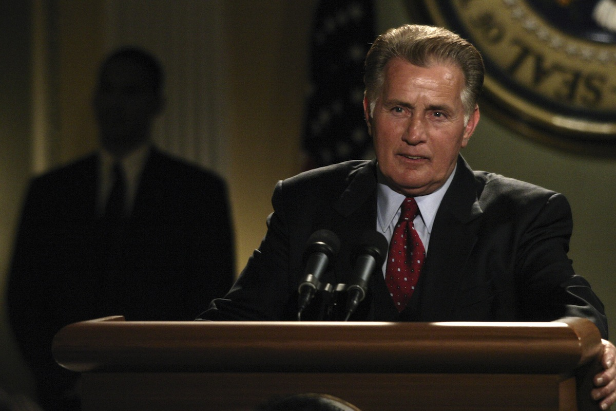 Martin Sheen as President Josiah  Jed  Bartlet on 'The West Wing'
