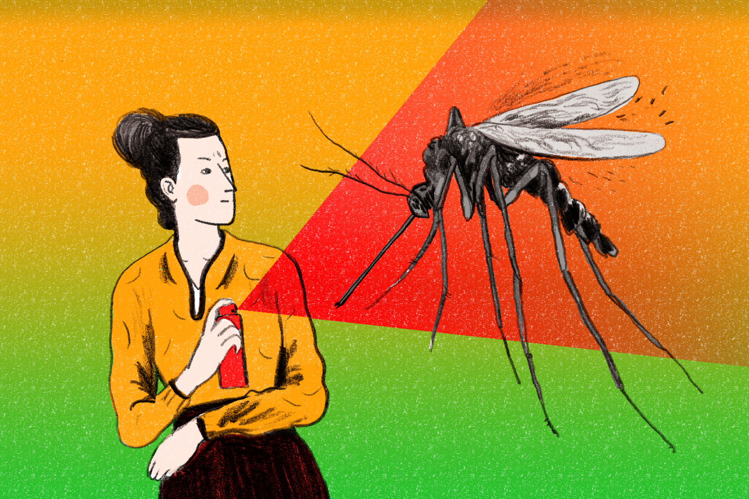 You Asked: Why Do Mosquitoes Always Bite Me?   Time
