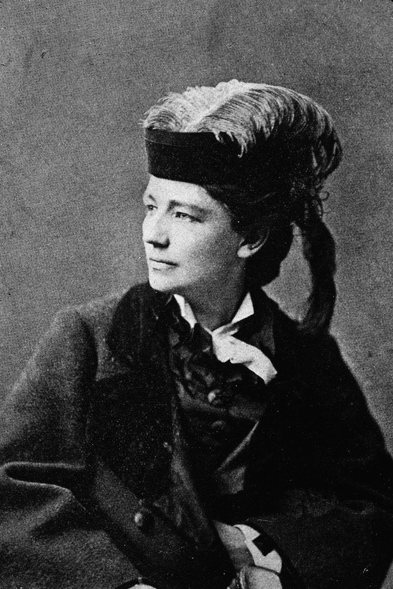 Victoria Claflin Woodhull (1838 - 1927), the first woman to run for US president from a nationally recognized ticket