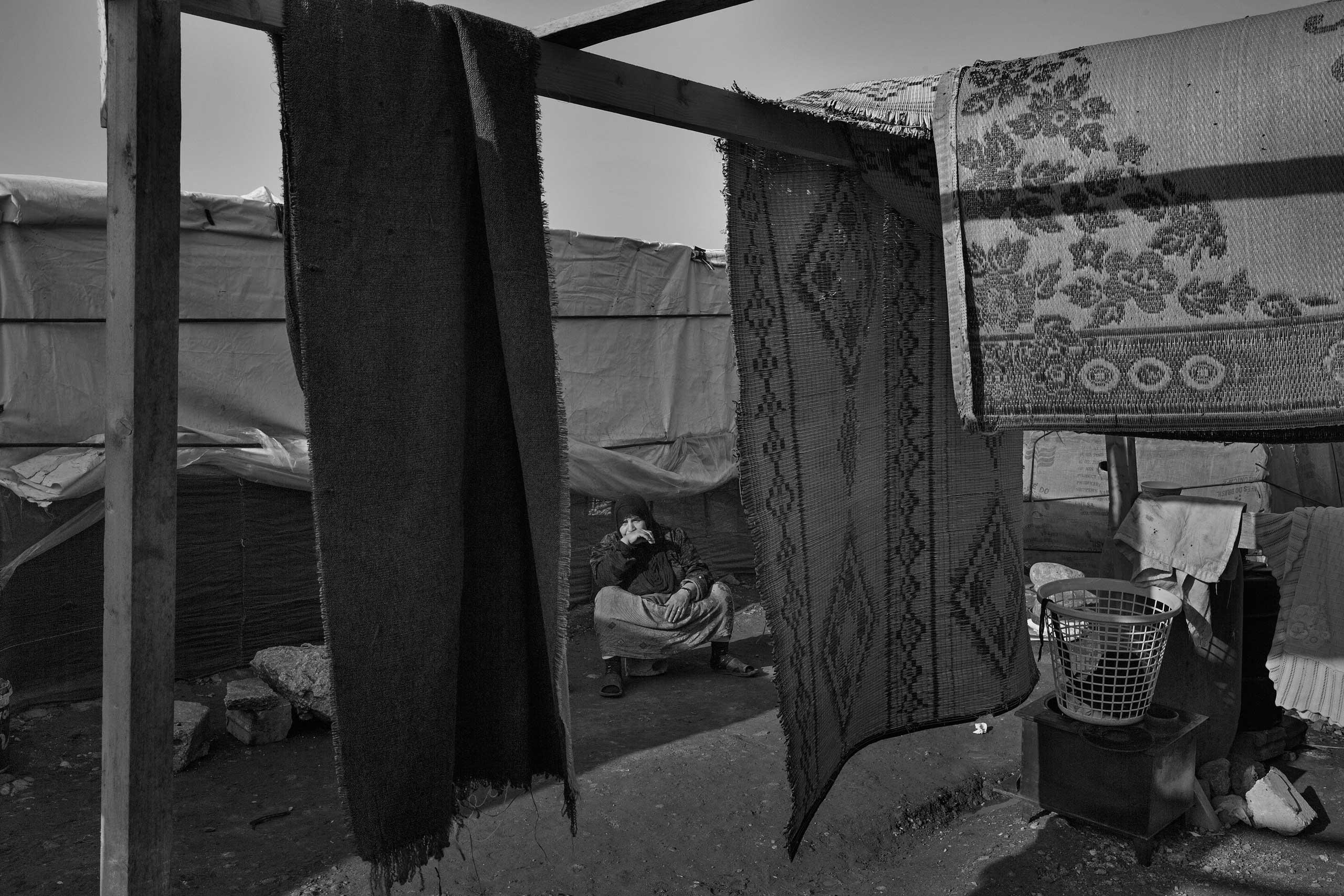 January 2014. Tripoli, Lebanon. Syrian refugees in Lebanon's informal settlements.