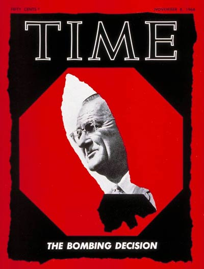 The Nov. 8, 1968, cover of TIME