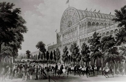 Crystal Palace for the Great Exhibition of 1851.