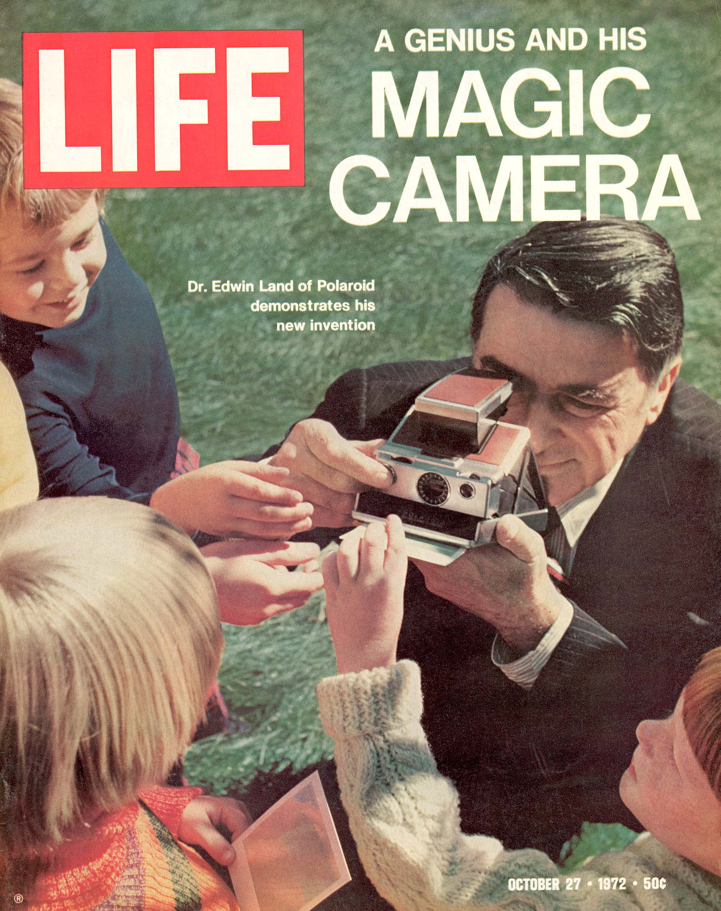 October 27, 1972, cover of LIFE magazine