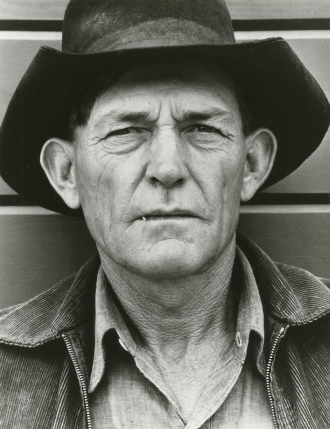 Migrant field worker,  Tulare Migrant Camp, Calif., 1940.