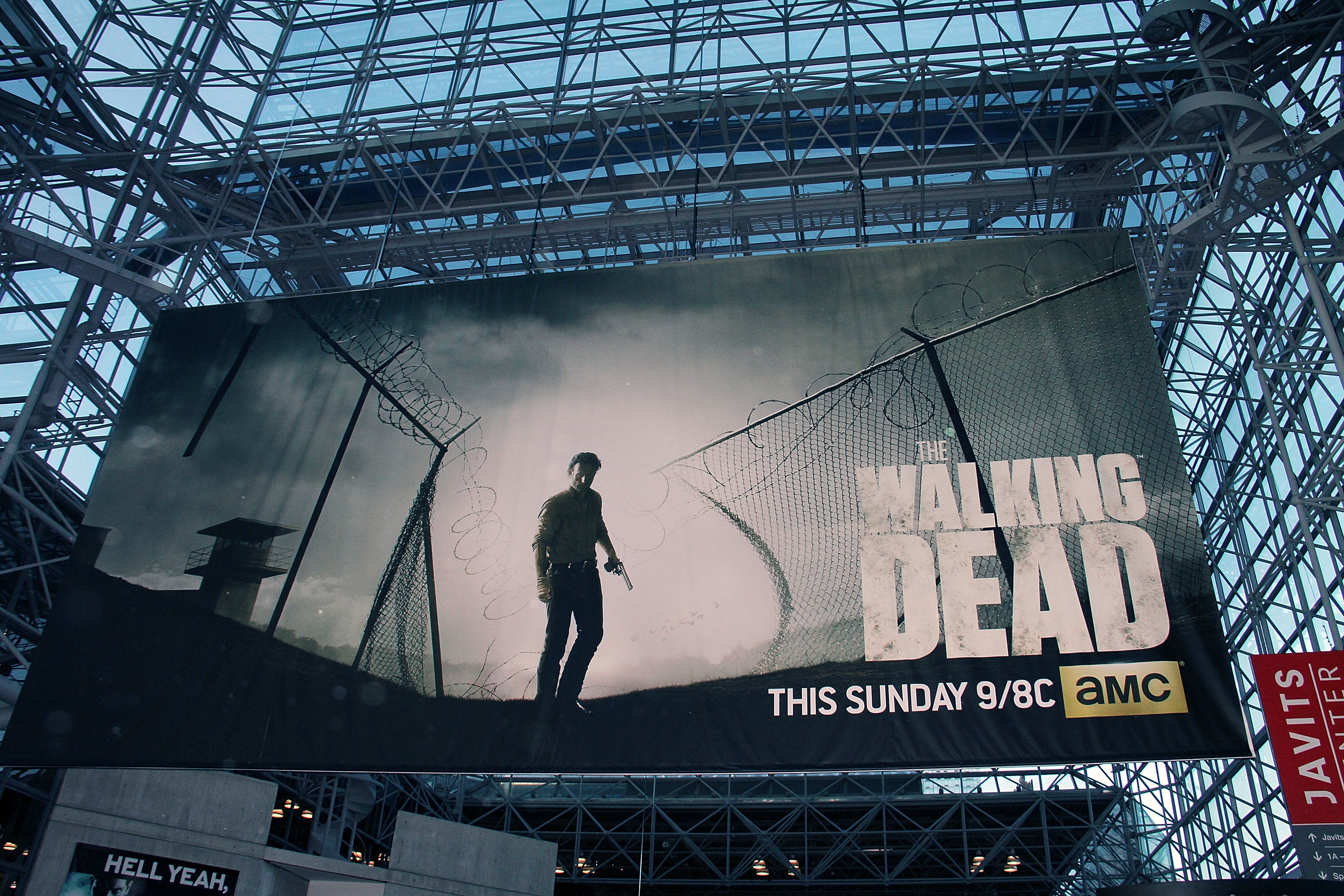 The Walking Dead  Panel at New York Comic Con at Jacob Javits Center on Oct. 12, 2013 in New York City.