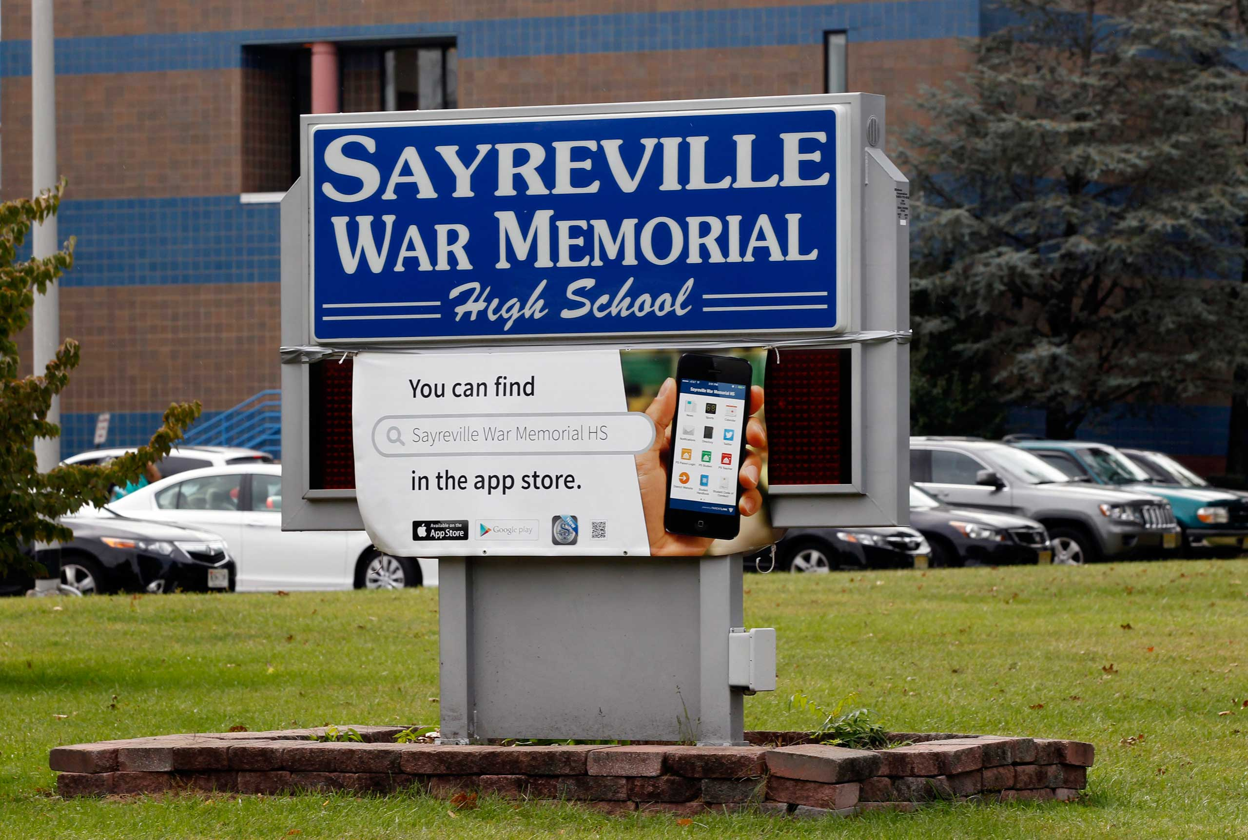 Sayreville War Memorial High School in Sayreville, N.J., Oct. 7, 2014.