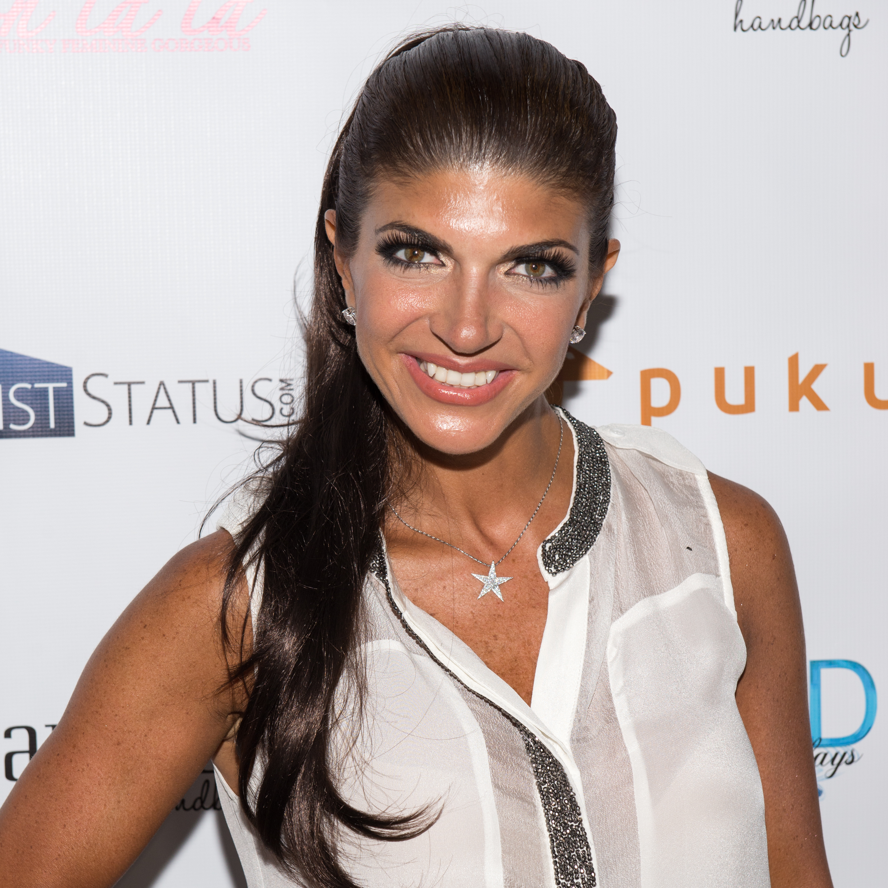 Tevevision Personality Teresa Giudice attends the White Party hosted by Dina Manzo and Teresa Giudice at Woodbury Country Club on July 21, 2014 in Woodbury, New York.