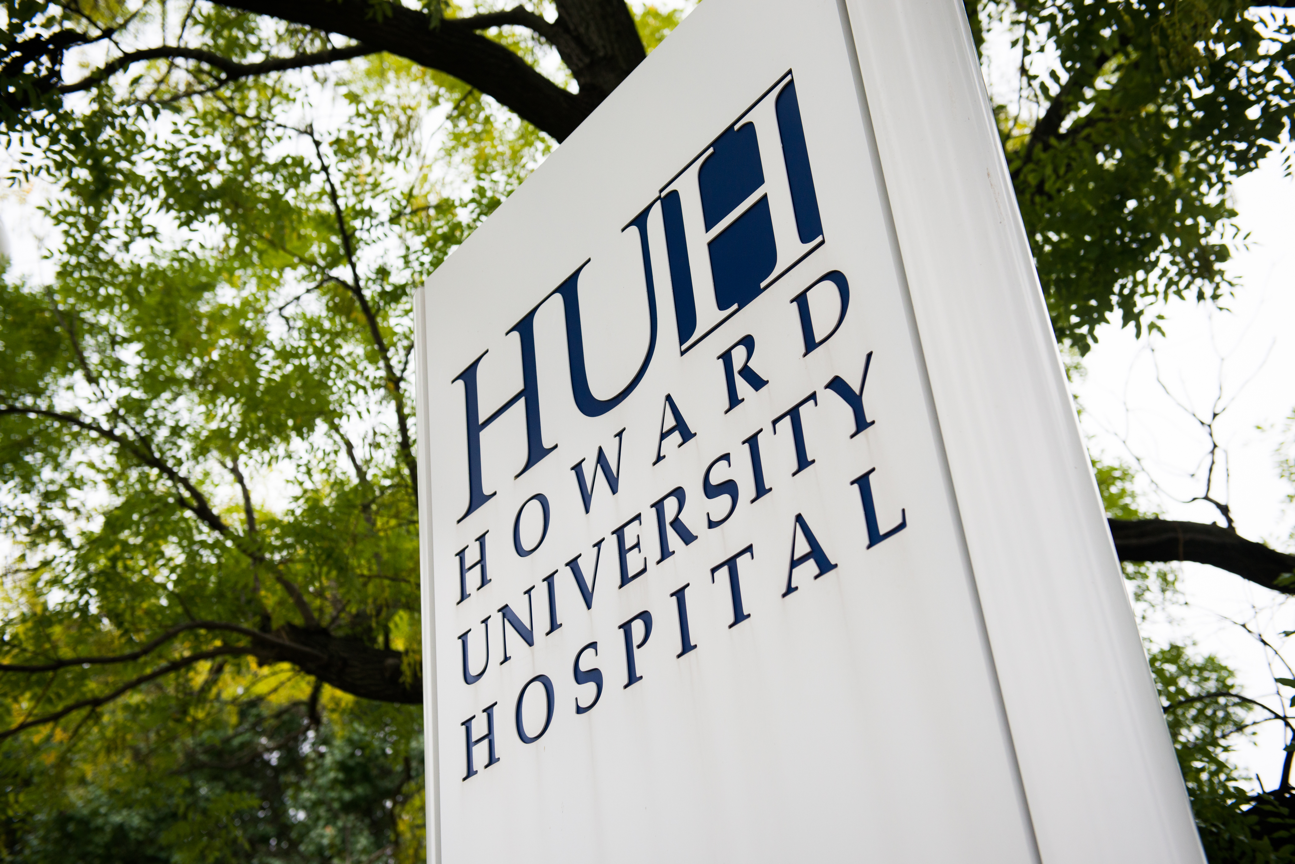 Howard University Hospital is pictured on Friday October 3, 2014 in Washington, D.C.