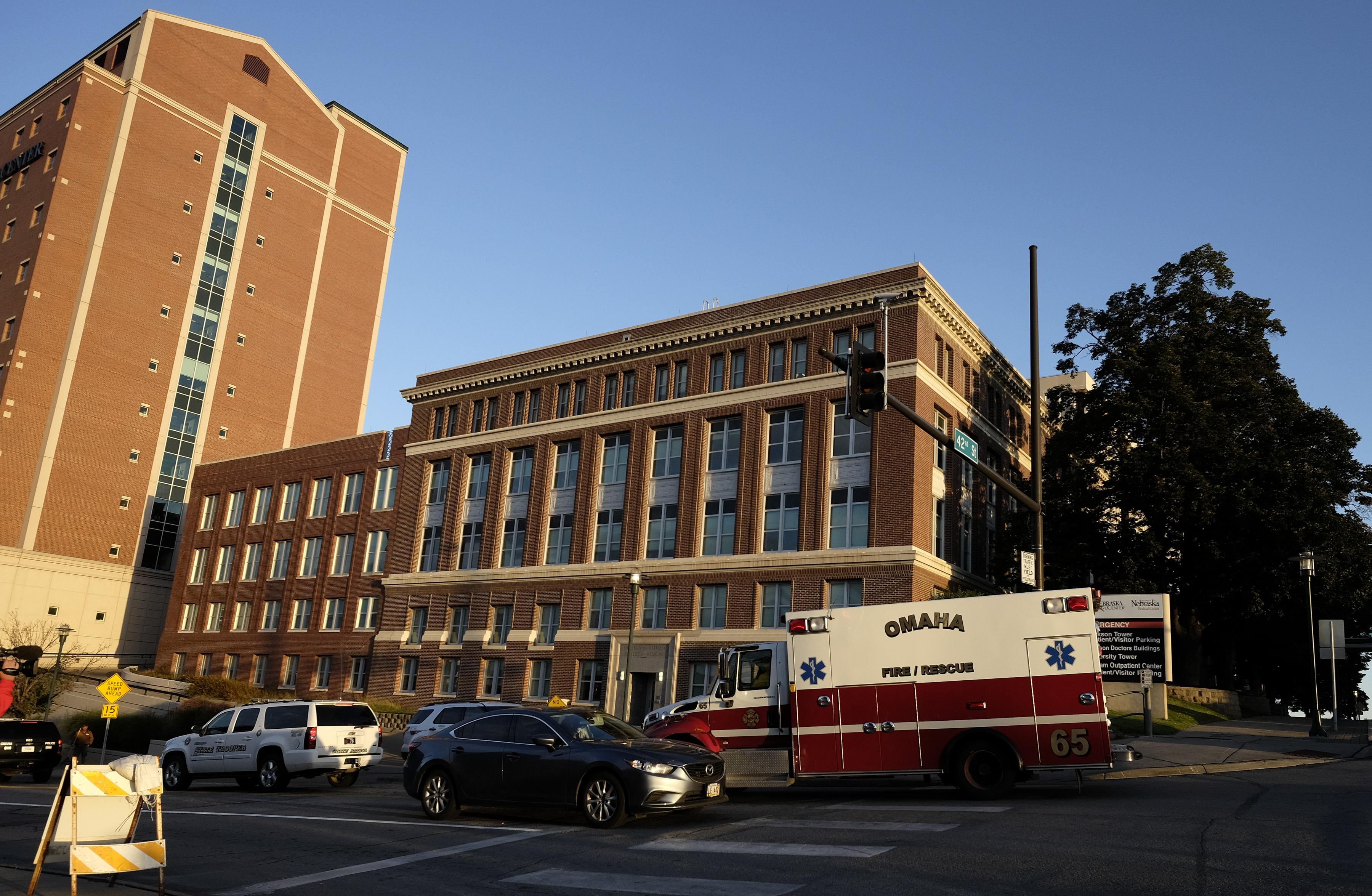 Nebraska Medical Center on Oct. 6, 2014 in Omaha, Nebraska.