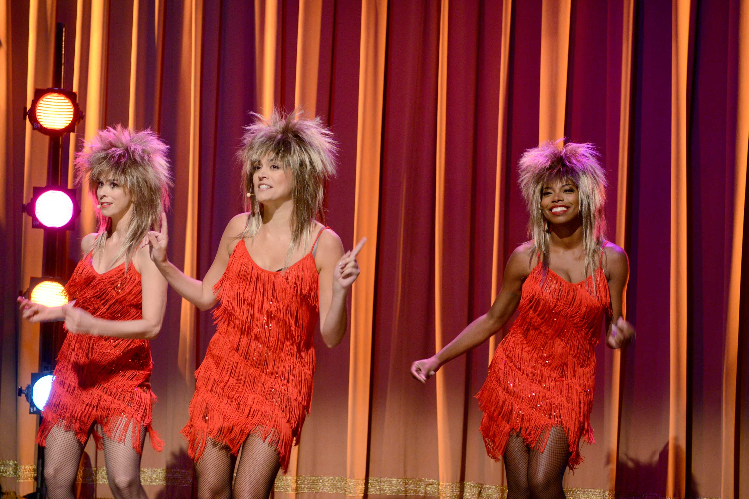 Sarah Silverman, Cecily Strong and Sasheer Zamata during the  Proud Mary  skit on Oct. 4, 2014.