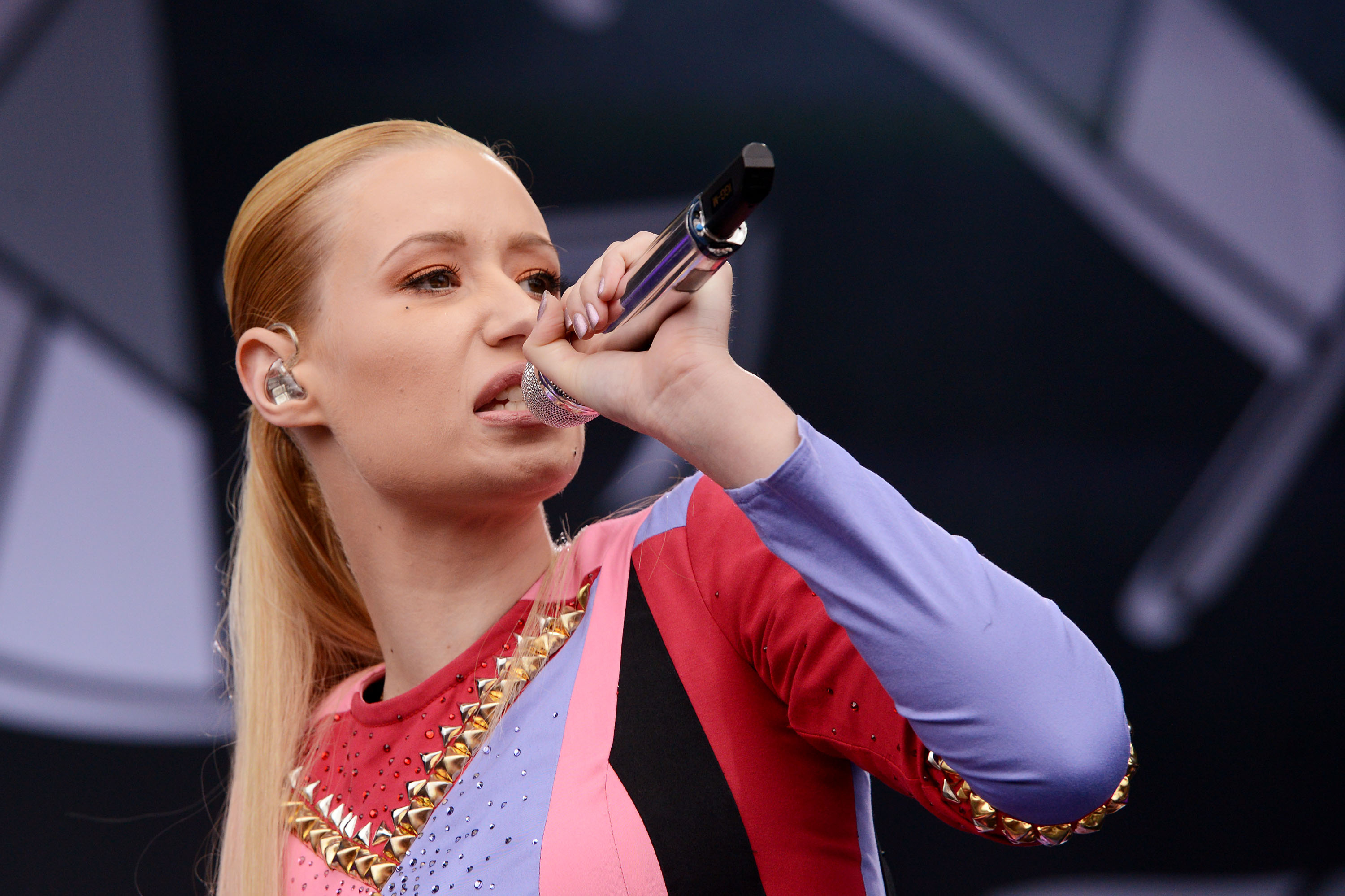 AUSTIN, TX - OCTOBER 11:  Iggy Azalea performs during the 2014 Austin City Limits Music Festival at Zilker Park on October 11, 2014 in Austin, Texas.  (Photo by C Flanigan/Getty Images)