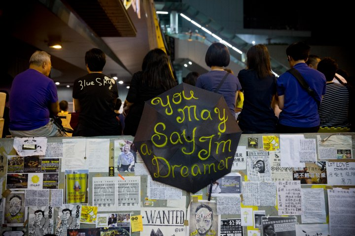 Pro-Democracy Student Leaders And Hong Kong Government Hold Talks