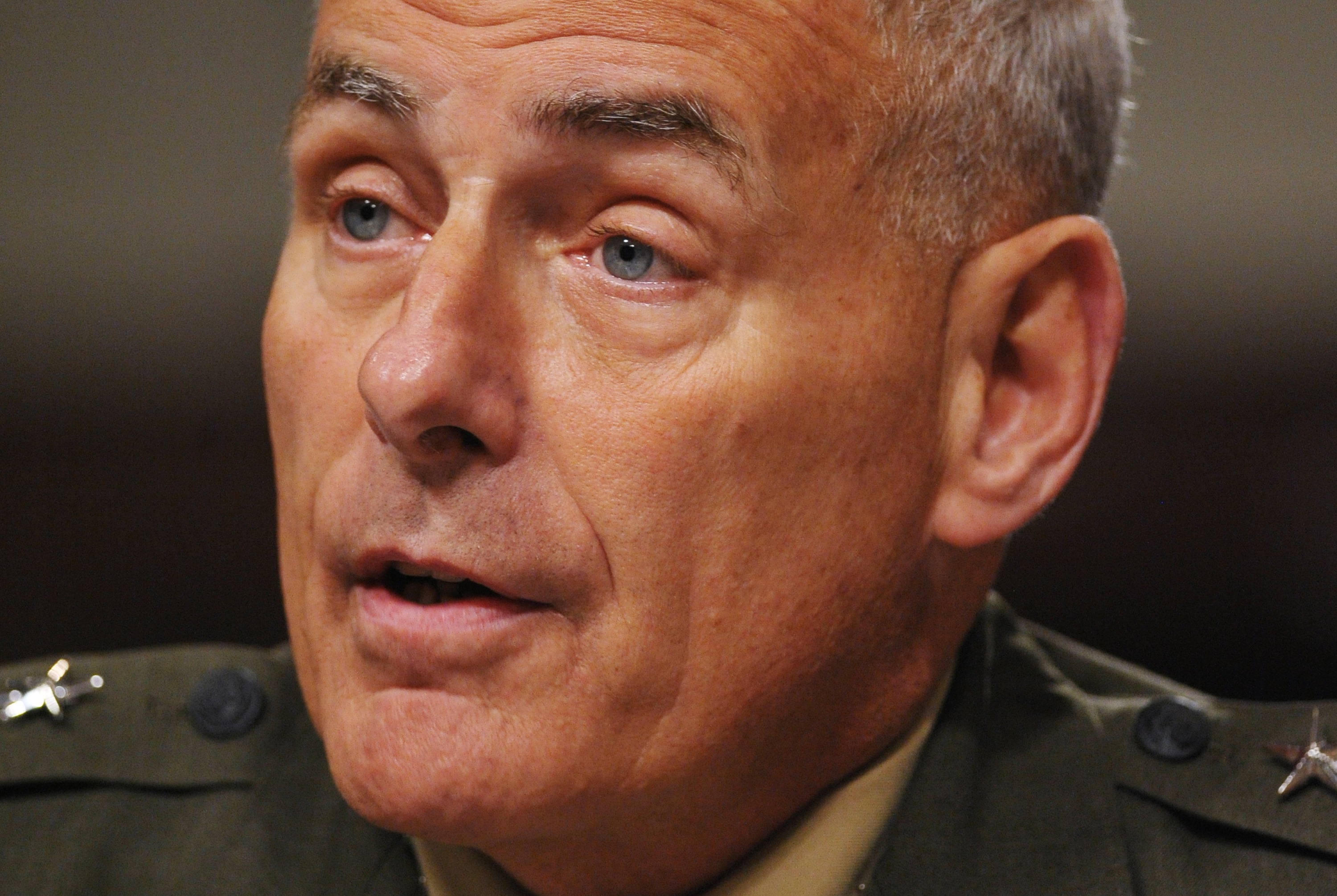 Marine General John Kelly, chief of U.S. Southern Command on March 13, 2014 in Washington D.C.