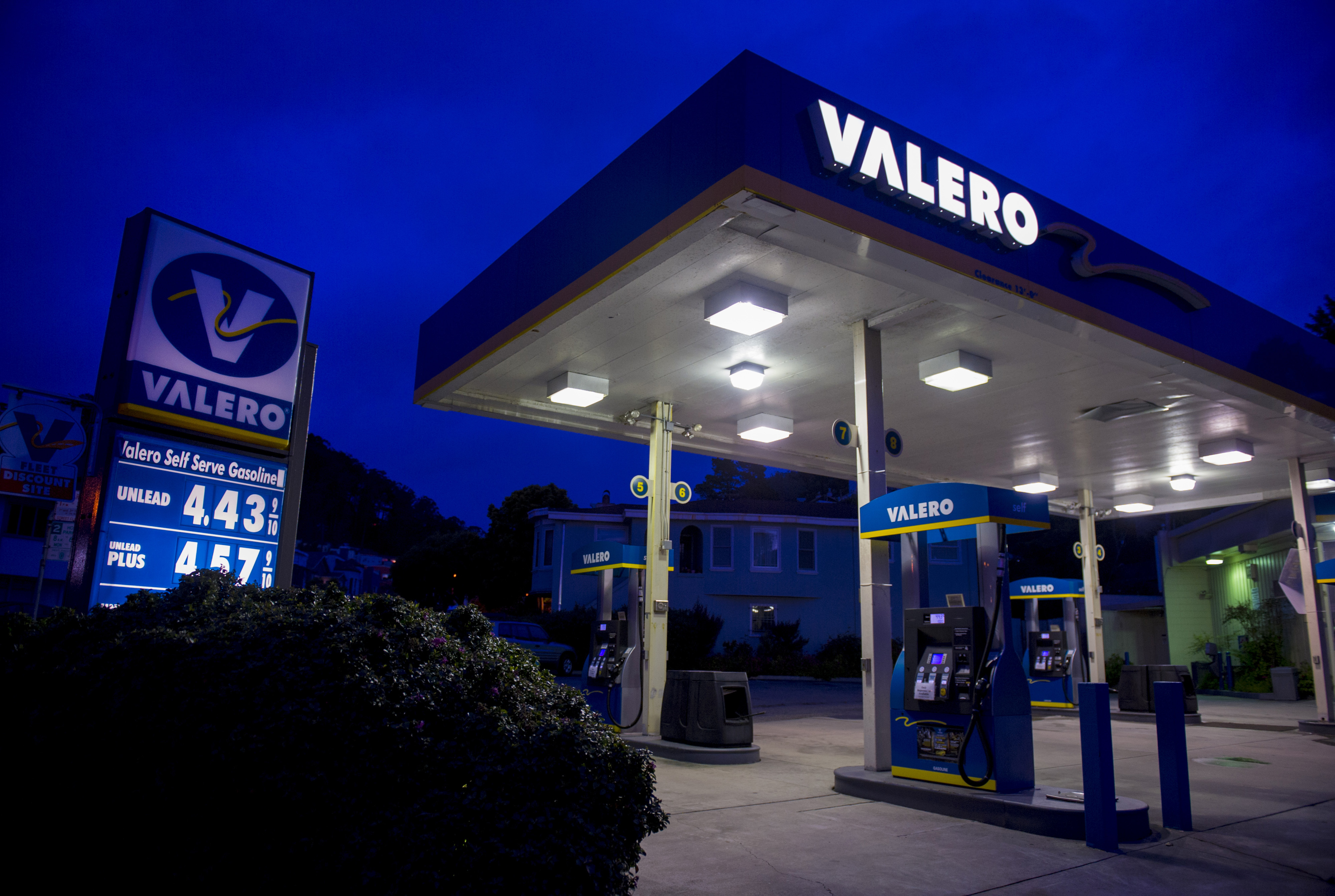 Valero Valero has benefited from increased oil and gas production in North America, and the company has said domestic gasoline demand and margins look positive heading into the summer driving season. This comes after some big changes for the refining giant: Valero completed the spin off of its retail business, CST Brands, last year. And earlier this year, the company named its new CEO, Joe Gorder, who was previously the company's chief operating officer.