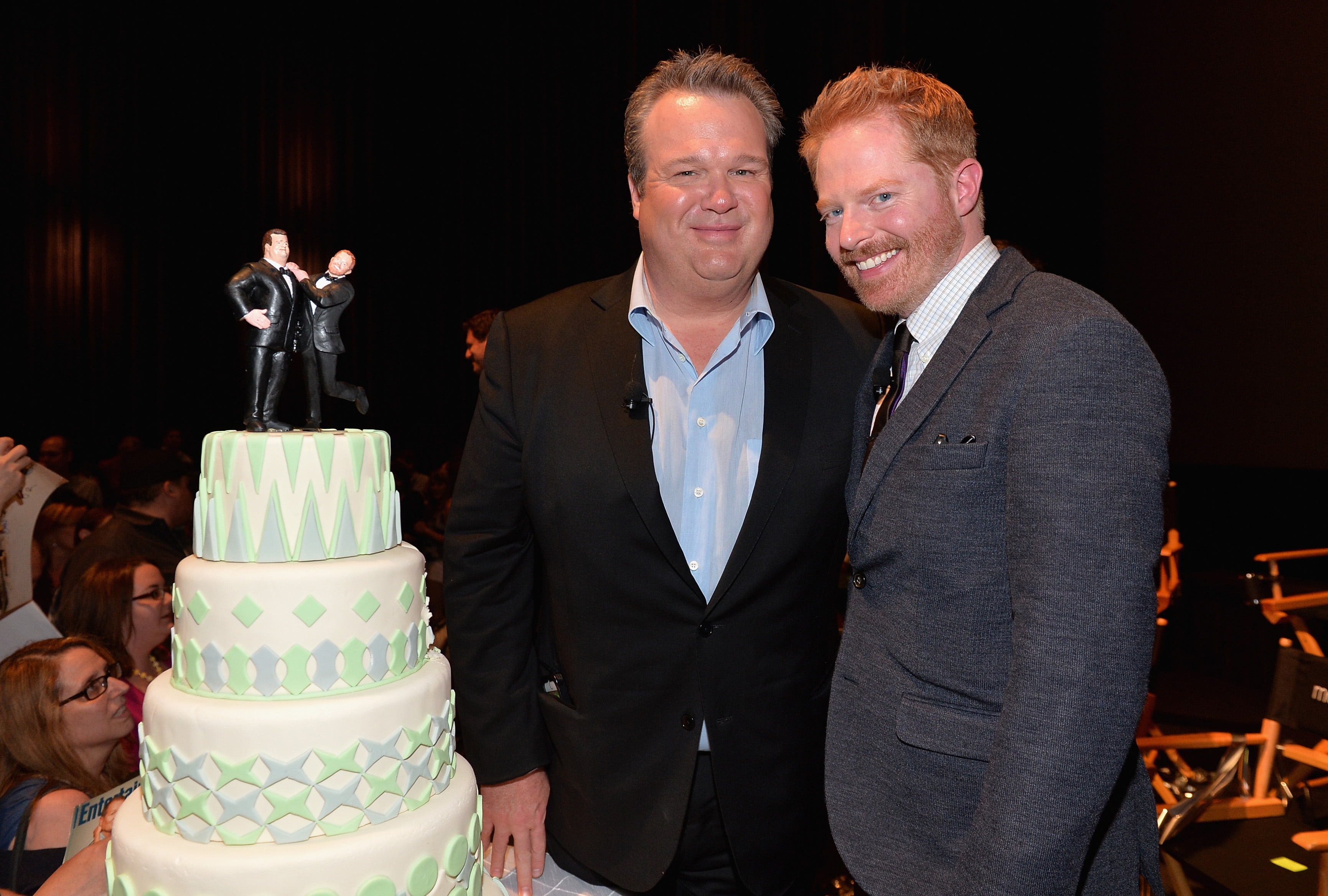 Actors Eric Stonestreet and Jesse Tyler Ferguson attend a  Modern Family  Wedding episode screening at Zanuck Theater at 20th Century Fox Lot on May 19, 2014 in Los Angeles, California.