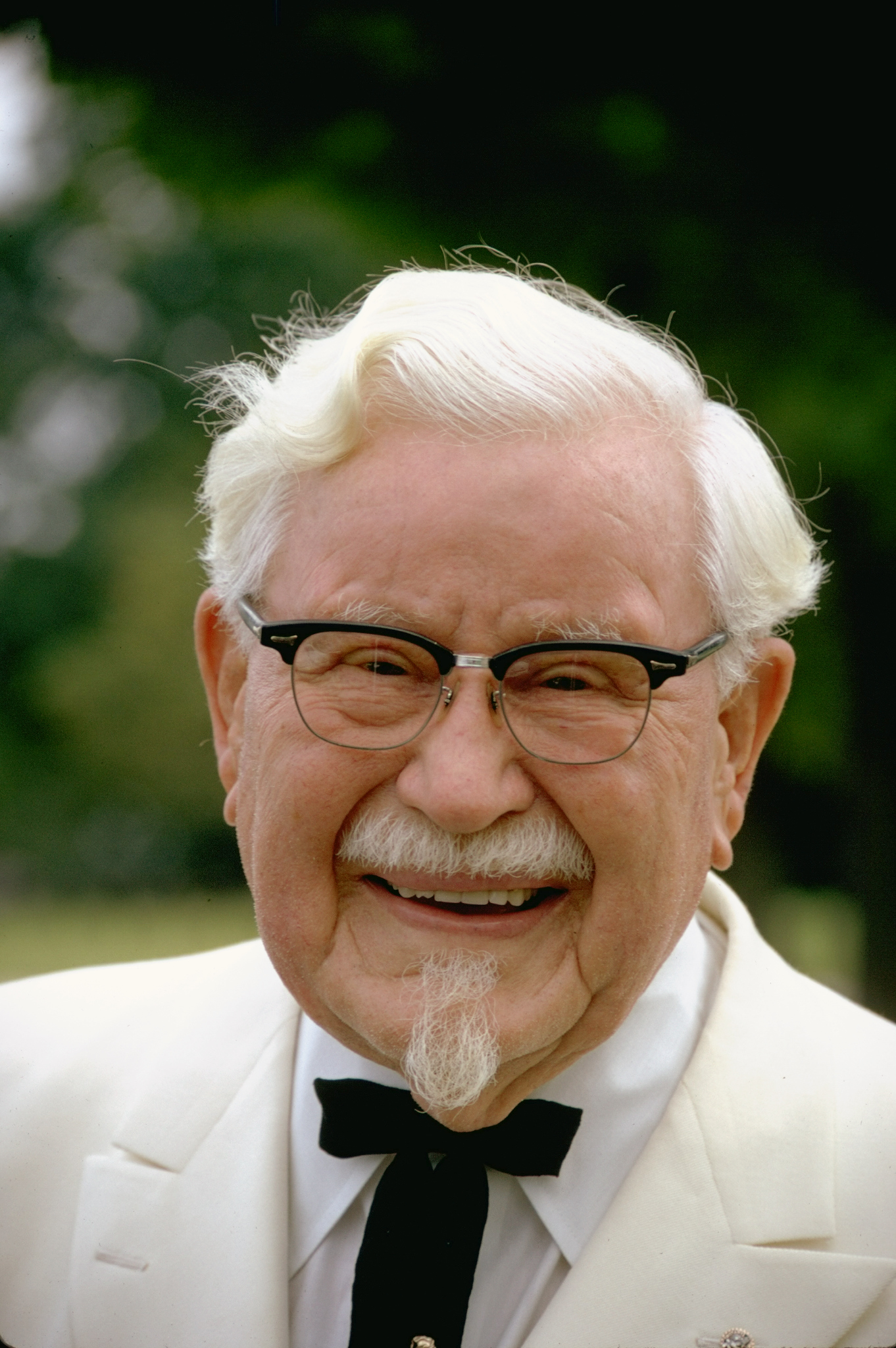 Col. Harland Sanders, founder of Kentucky Fried Chicken.