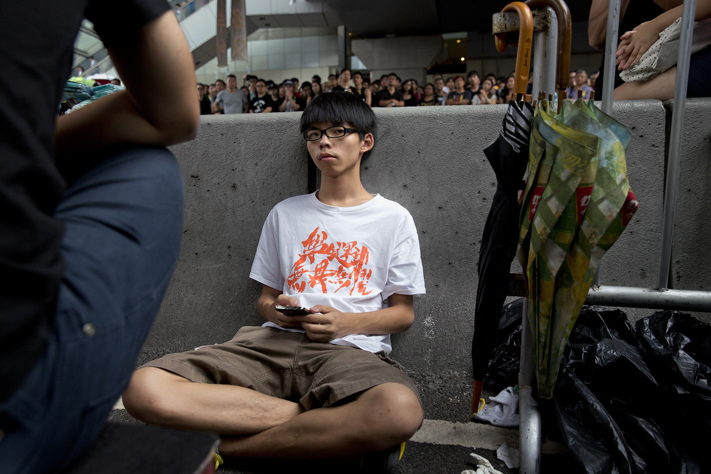 Joshua Wong, 17-year-old protest leader, is a co-founder of the group Scholarism, which helped kick-start the Hong Kong protests