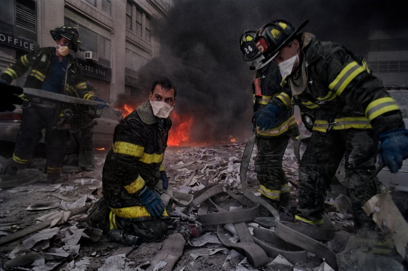"""""""There was a sense of shock. The firefighters clicked into a kind of professional default and did what they knew how to do, in the face of impossible odds."""""""