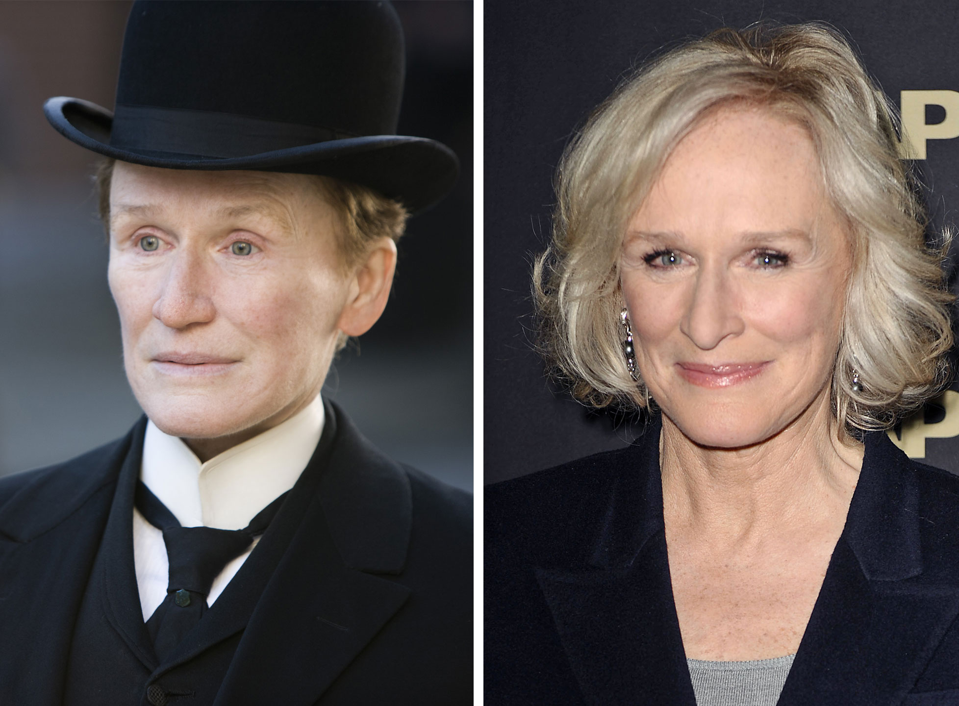 Glenn Close as Albert Nobbs in Albert Nobbs