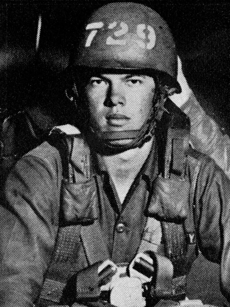 Philip W. Strout, 21, Army, SP4, So. Portland, Maine