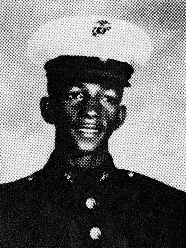 Iran C. Brown, 19, Marines, L. Cpl., Roanoke, Va.