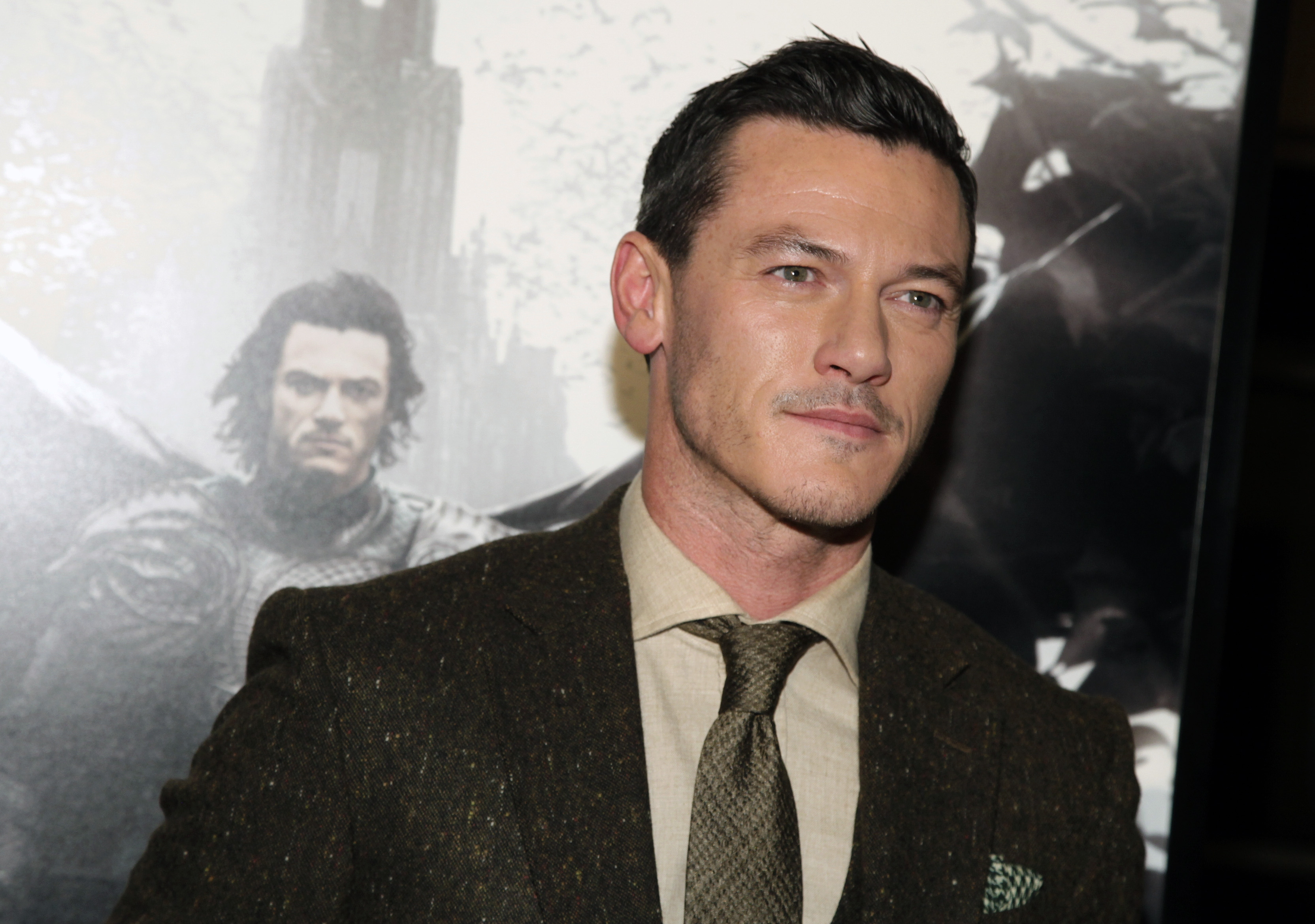 Luke Evans (Photo by Andy Kropa/Invision/AP)