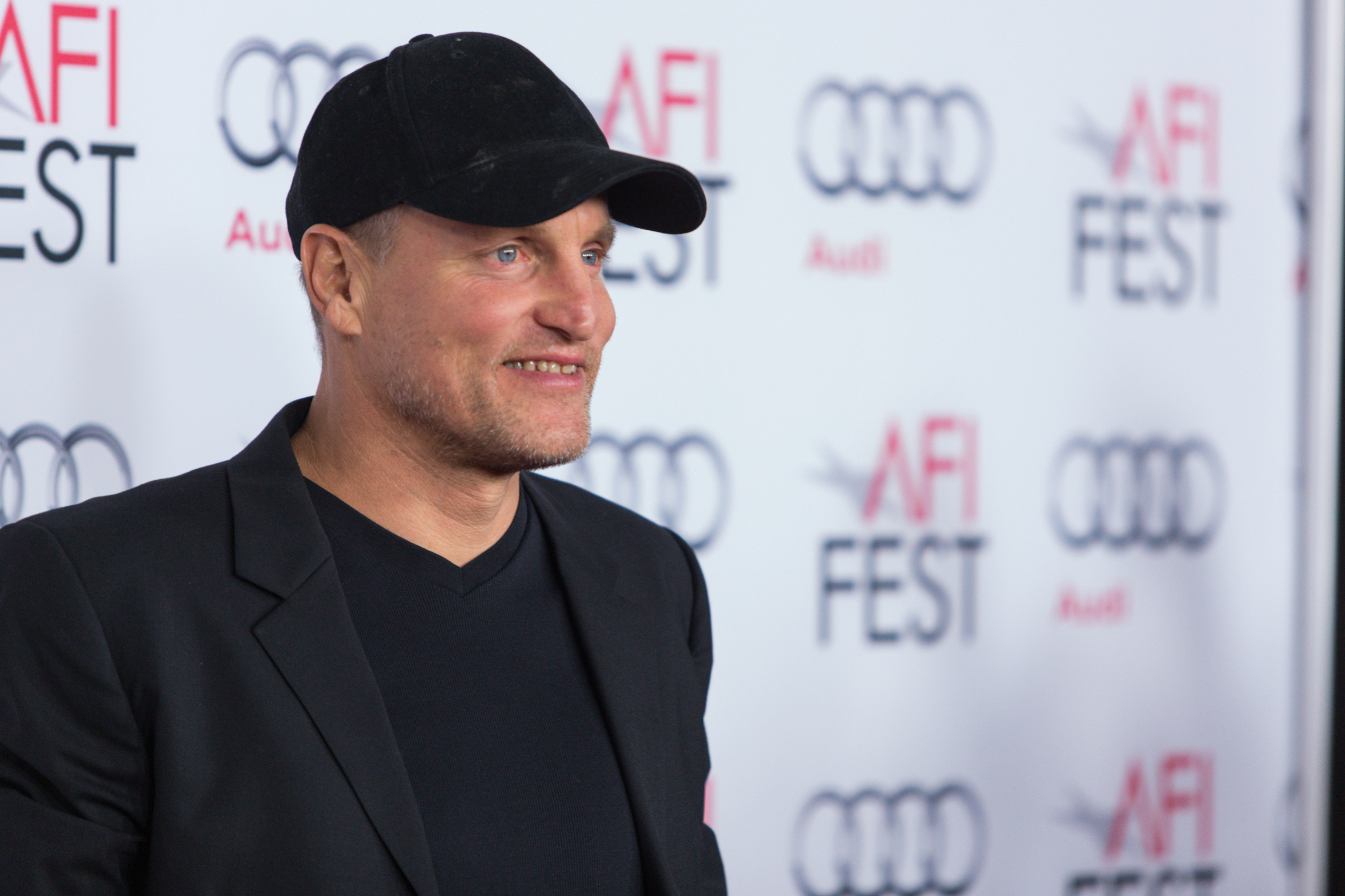 Actor Woody Harrelson arrives at the 2013 AFI Fest premiere of  Out of the Furnace  at the TCL Chinese Theatre on Saturday, Nov. 9, 2013 in Los Angeles. (Photo by Paul A. Hebert/Invision/AP)