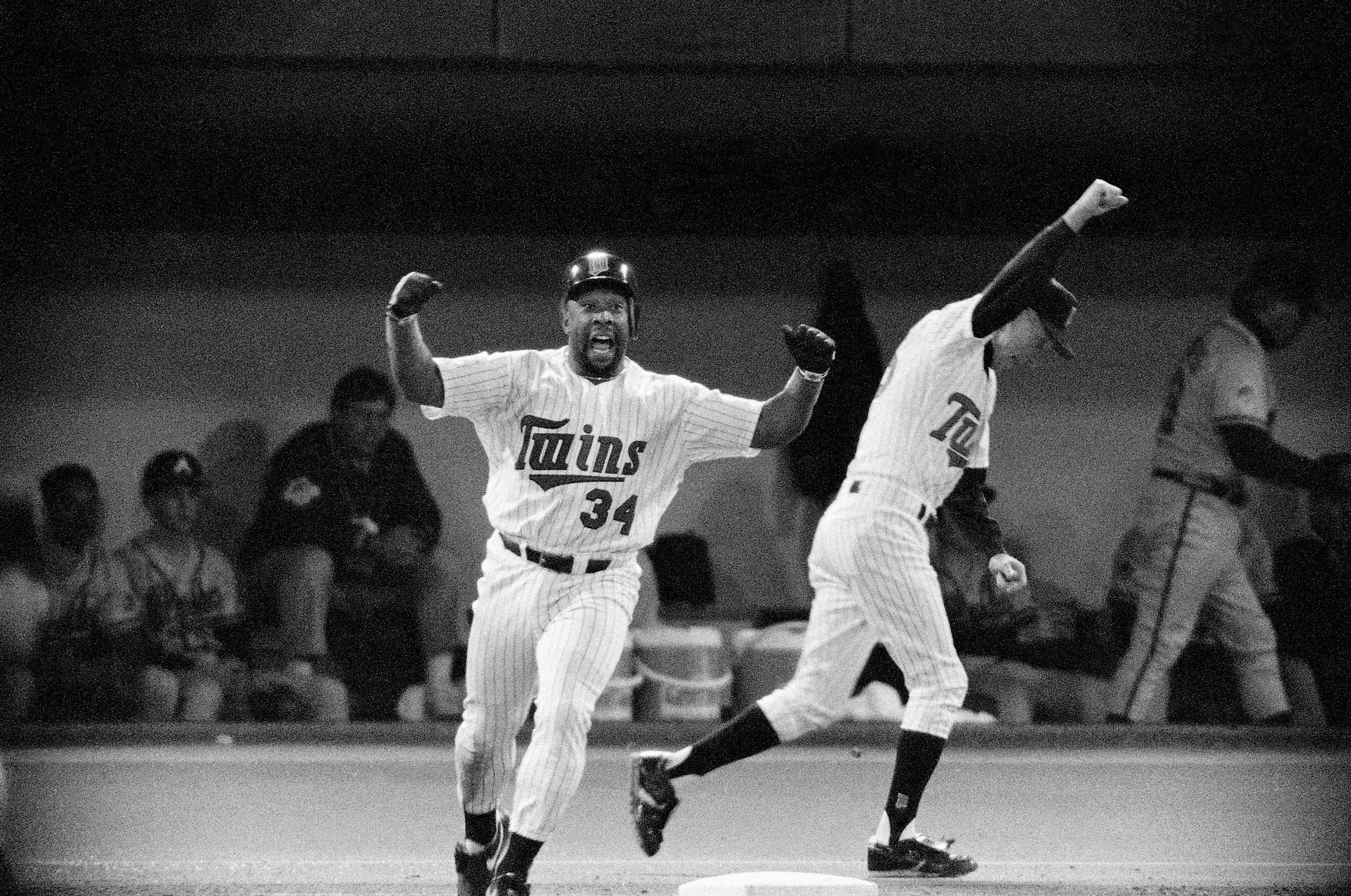 "Oct. 26, 1991: ""And We'll See You Tomorrow Night!""                                   Kirby Puckett wins Game 6 with a home run in the bottom of the 11th with 2 outs, pushing for a Game 7 against the Atlanta                                   Braves and setting the Twins up for eventual victory. This is considered one of the greatest World Series ever played."