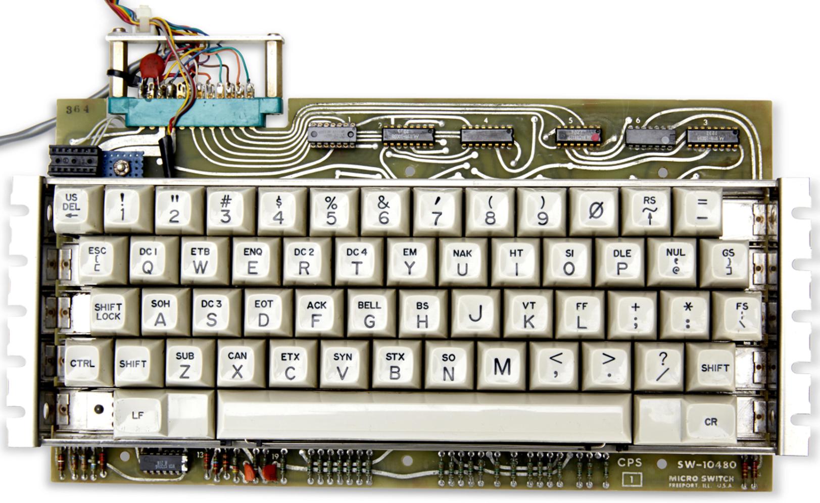 Apple 1 keyboard
