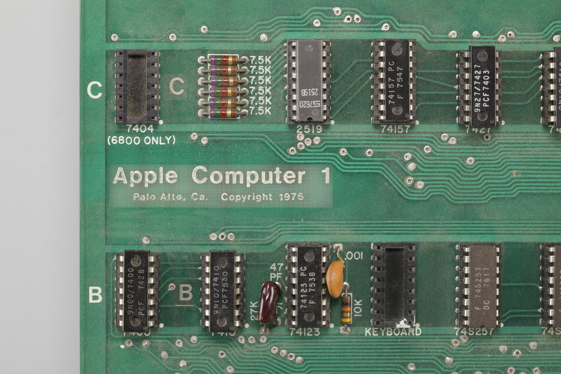 Apple 1 motherboard