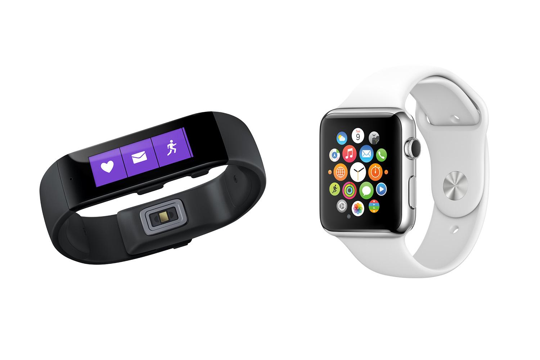 Microsoft Band; Apple Watch