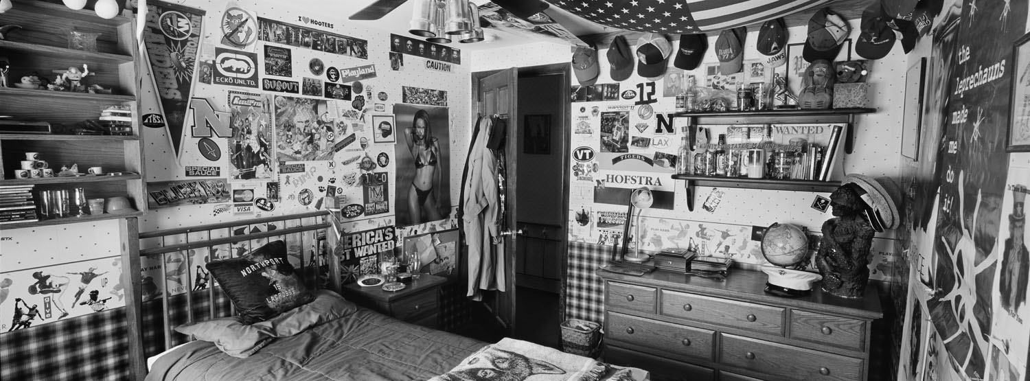 Marine Cpl. Christopher G. Scherer, 21, was killed by a sniper on July 21, 2007, in Karmah, Iraq. He was from East Northport, New York. His bedroom was photographed in February, 2009.