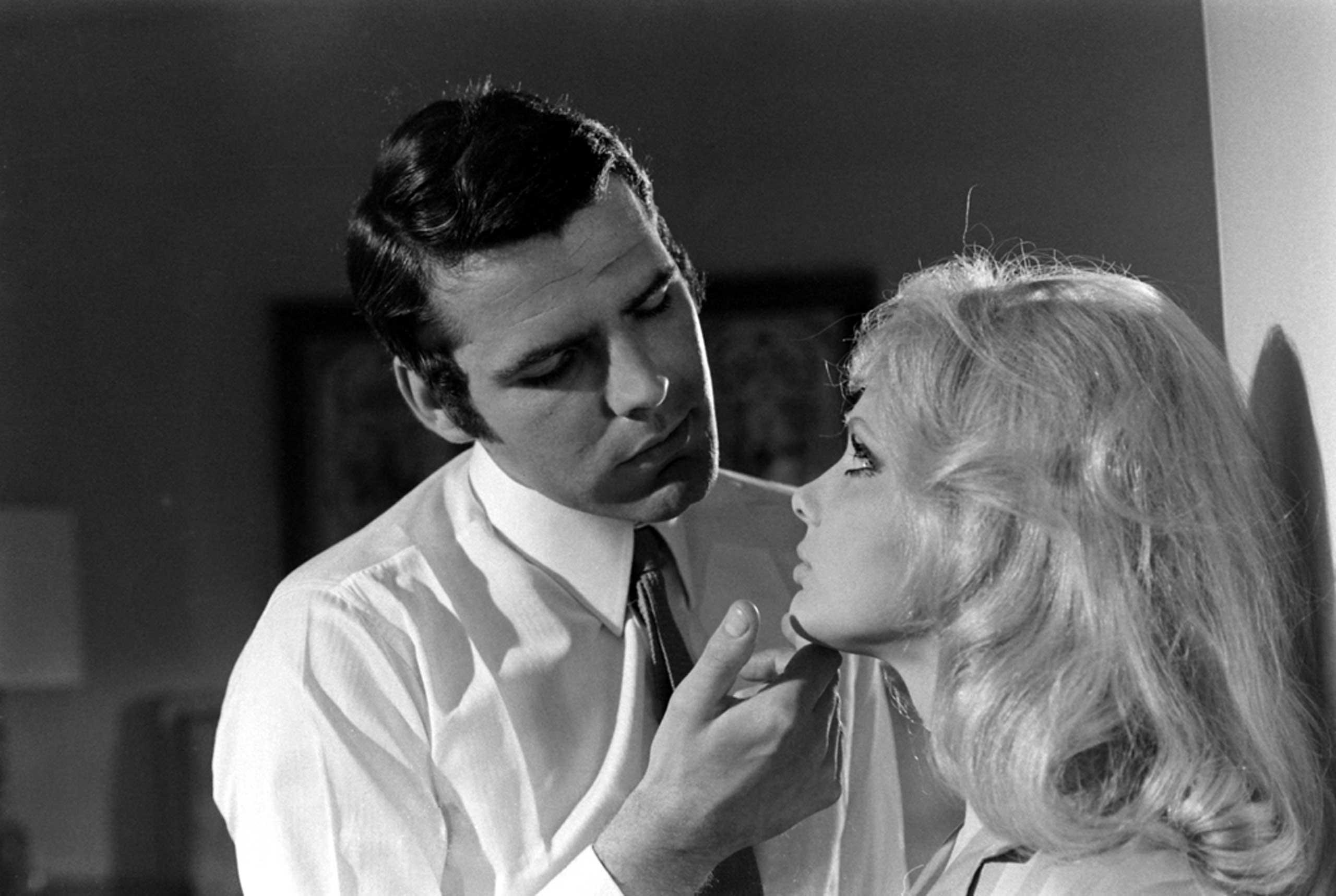 Hans De Vries and France Anglade, James Bond audition, 1967.